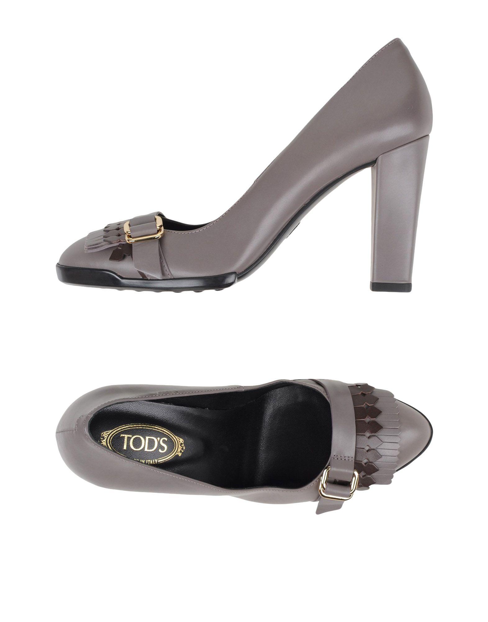 Tod's Pumps Damen  11031229RNGut aussehende strapazierfähige Schuhe
