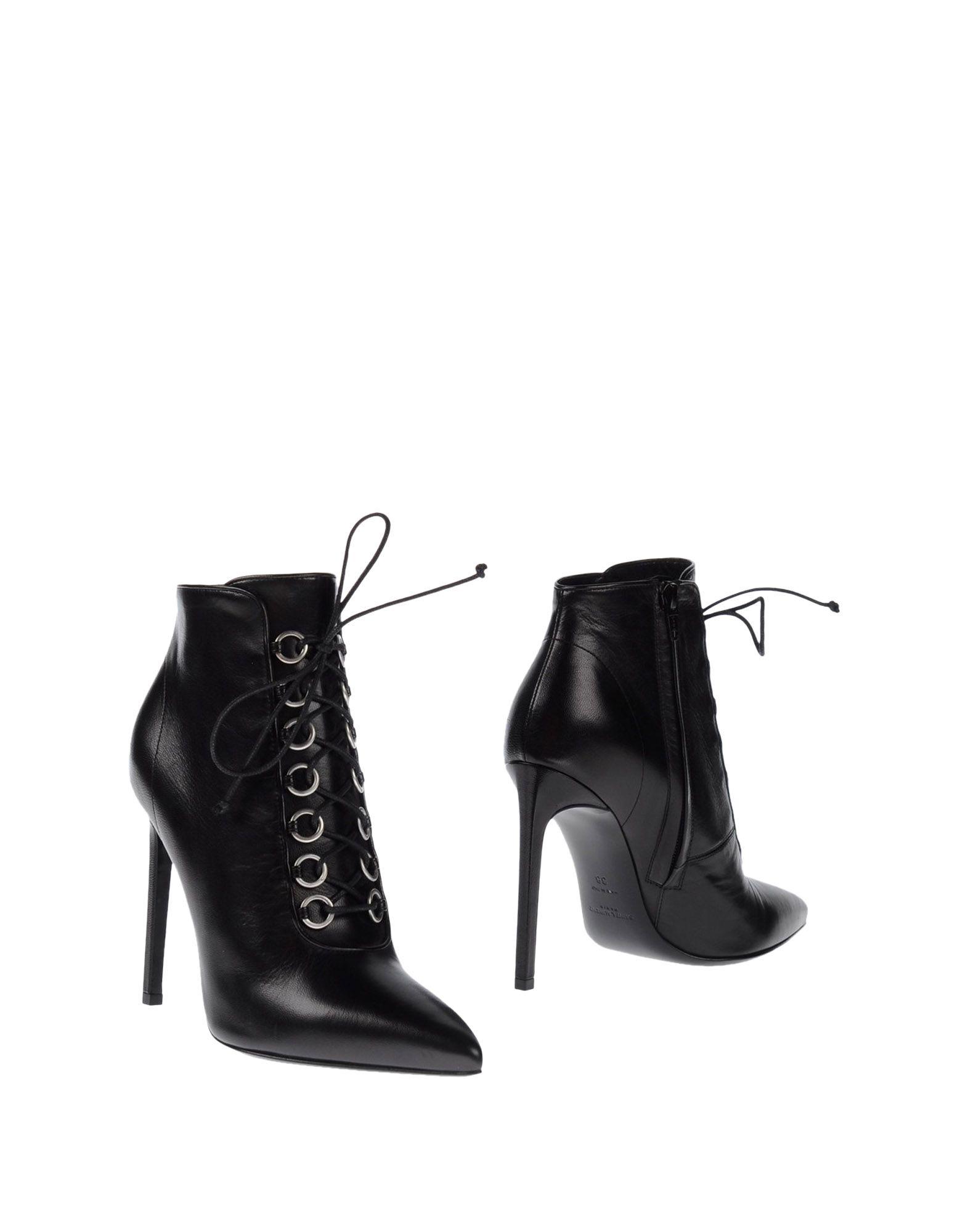 Saint Laurent Stiefelette aussehende Damen  11031295TXGünstige gut aussehende Stiefelette Schuhe 0974e7