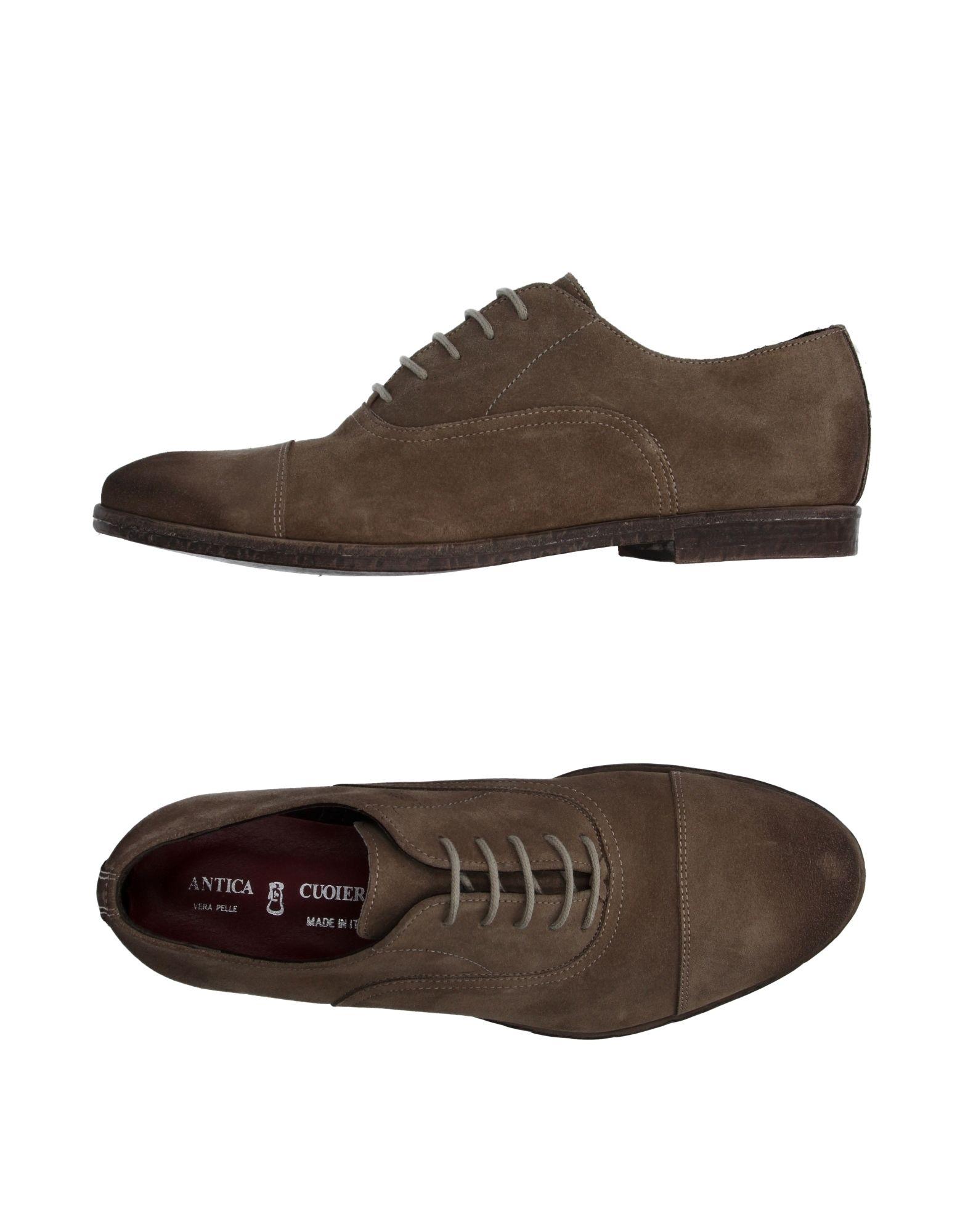 Rabatt echte Schuhe Antica Cuoieria Schnürschuhe Herren  11034684HC