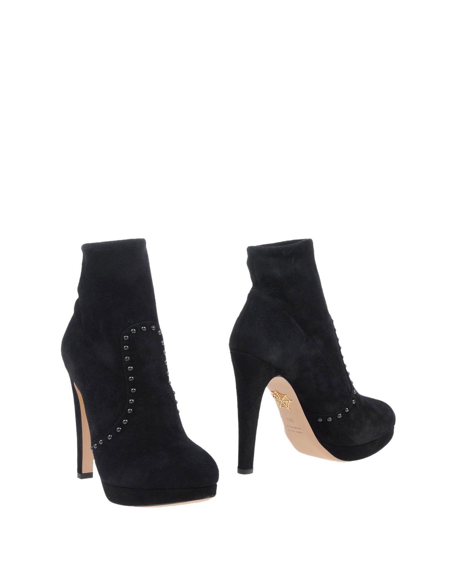 Charlotte Olympia Stiefelette Damen  11035319VQGünstige gut aussehende Schuhe