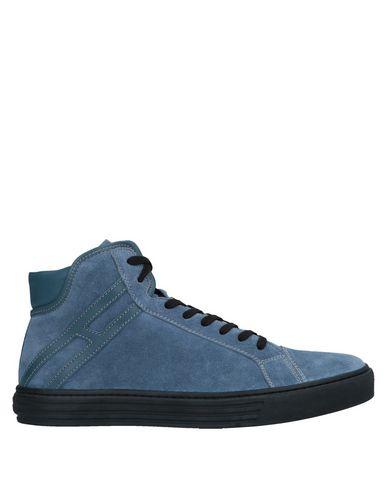 HOGAN REBEL Sneakers in Slate Blue