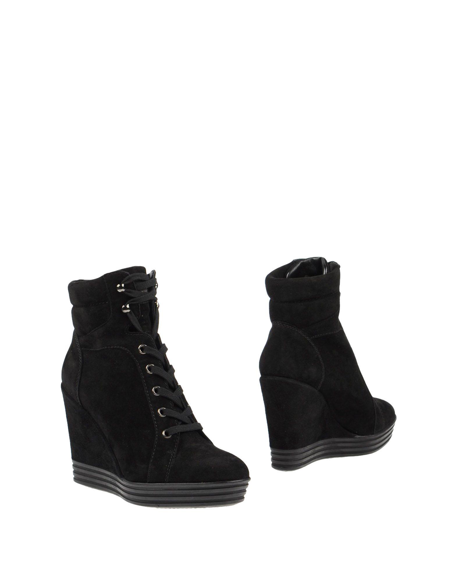 Rabatt Schuhe Hogan Rebel Stiefelette Damen  11038646OI