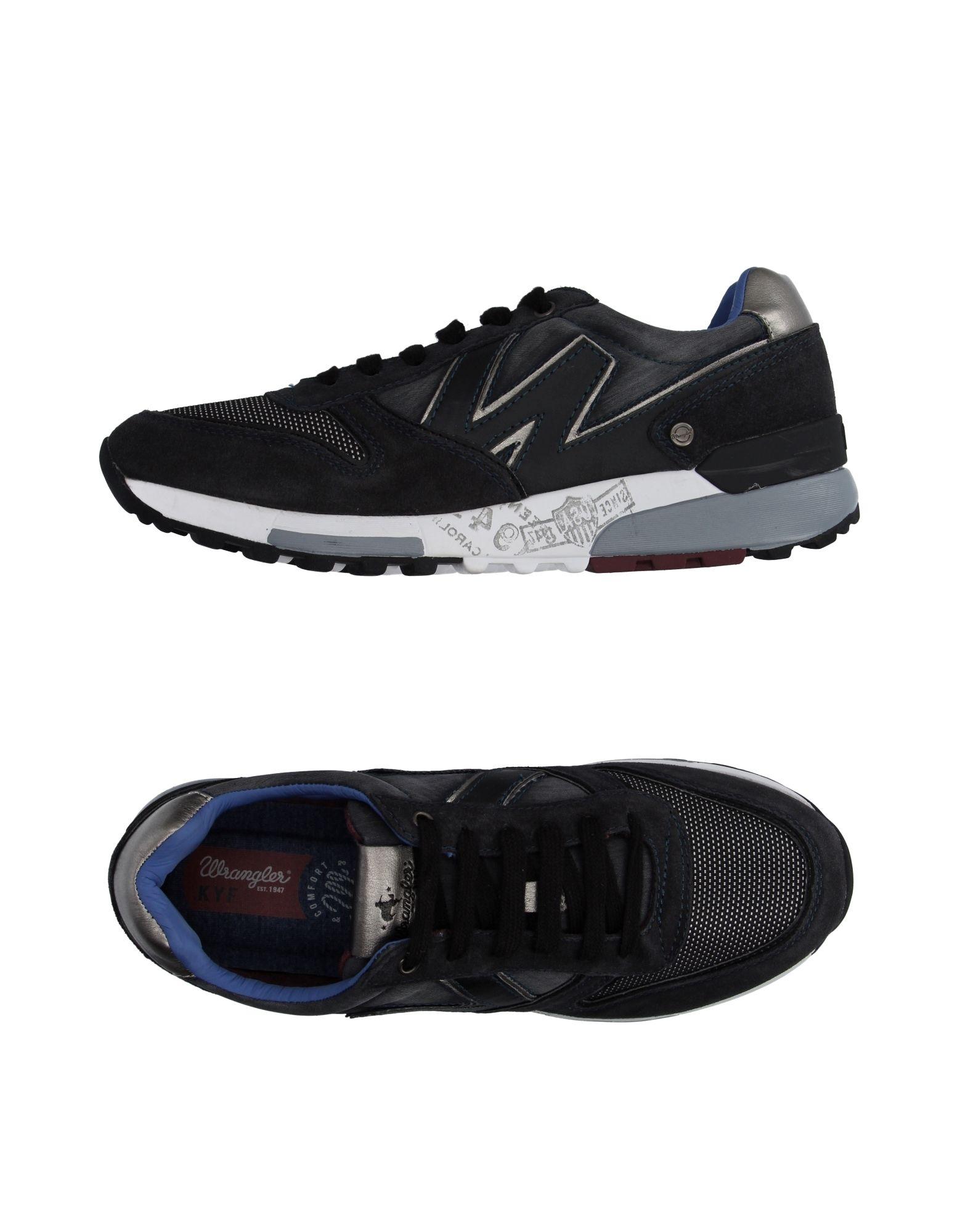 Rabatt echte Schuhe Wrangler Sneakers Herren  11038701OK