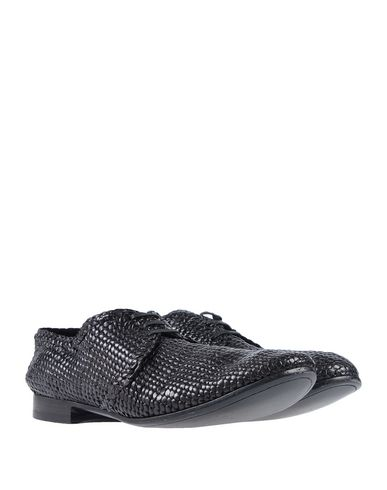 Gabbana Chaussures Noir Dolce amp; À Lacets Pfqz0Wn