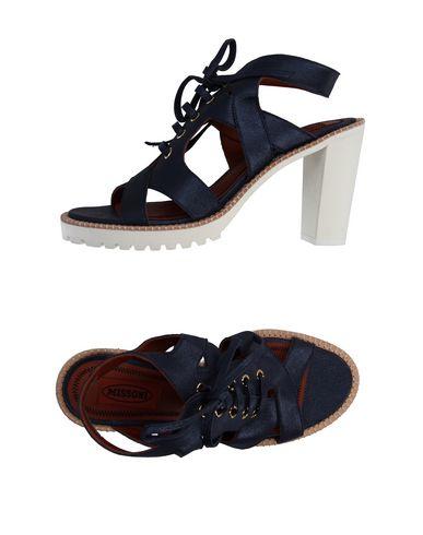 Zapatos de mujer baratos Missoni zapatos de mujer Sandalia Missoni baratos Mujer - Sandalias Missoni - 11042438CX Azul oscuro 3c64a8