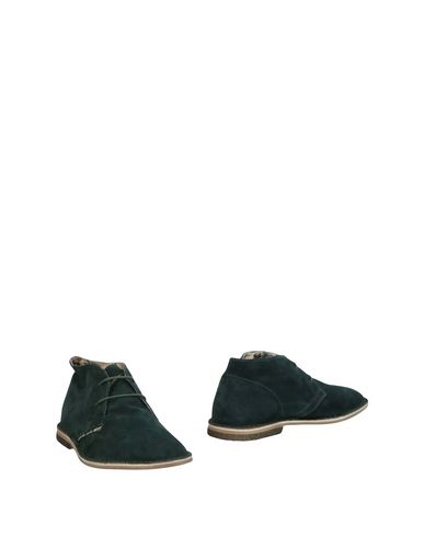 LE CROWN Boots in Dark Green