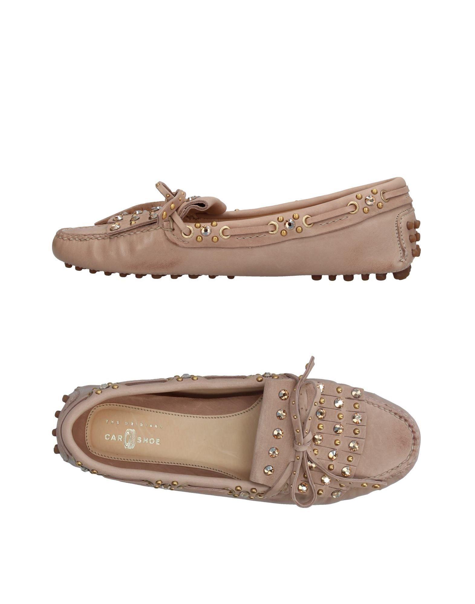 Stilvolle billige Schuhe Carshoe Mokassins Damen  11044429BW