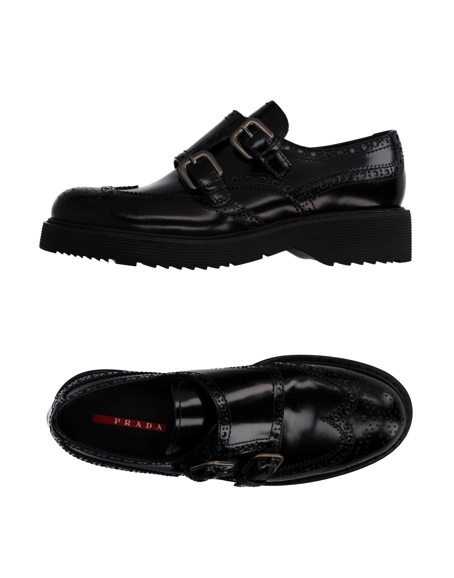 Prada Sport Mokassins Damen  11047590QVGünstige gut aussehende Schuhe