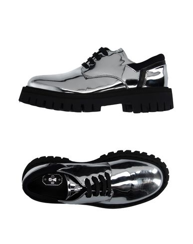 BB BRUNO BORDESE Laced Shoes in Silver