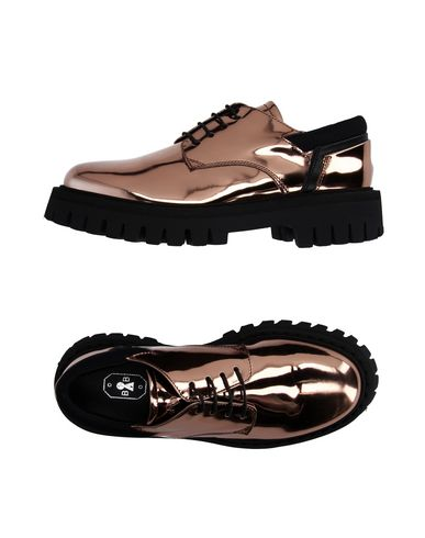 BB BRUNO BORDESE Laced Shoes in Copper