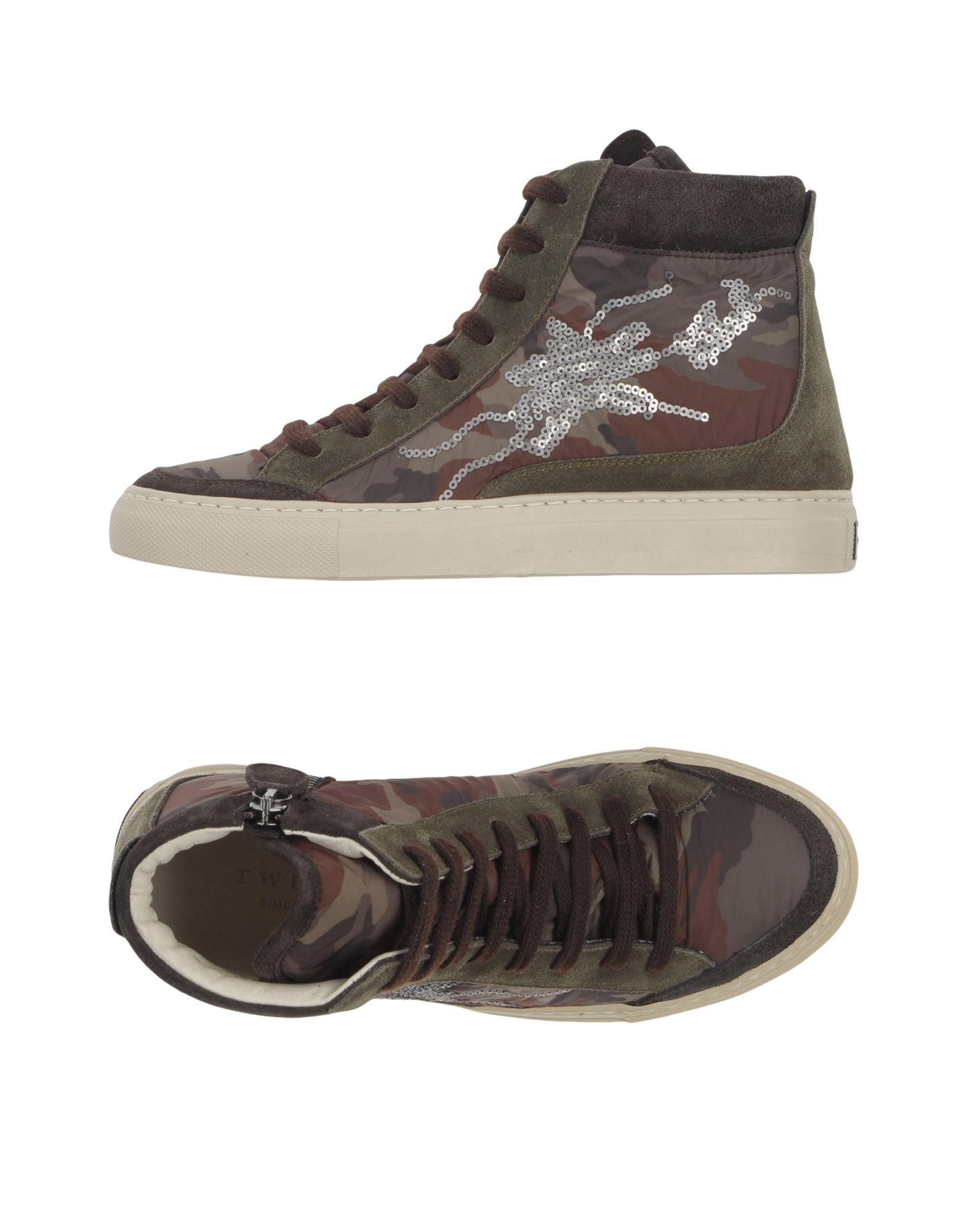 Twin-Set Simona Barbieri Sneakers - Women Twin-Set Simona Barbieri Canada Sneakers online on  Canada Barbieri - 11048746SO 1916dd