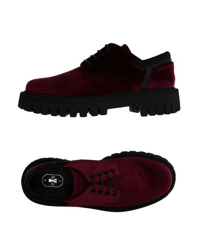 BB BRUNO BORDESE Laced Shoes in Garnet