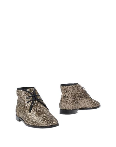 SUSANA TRACA Ankle Boots in Gold