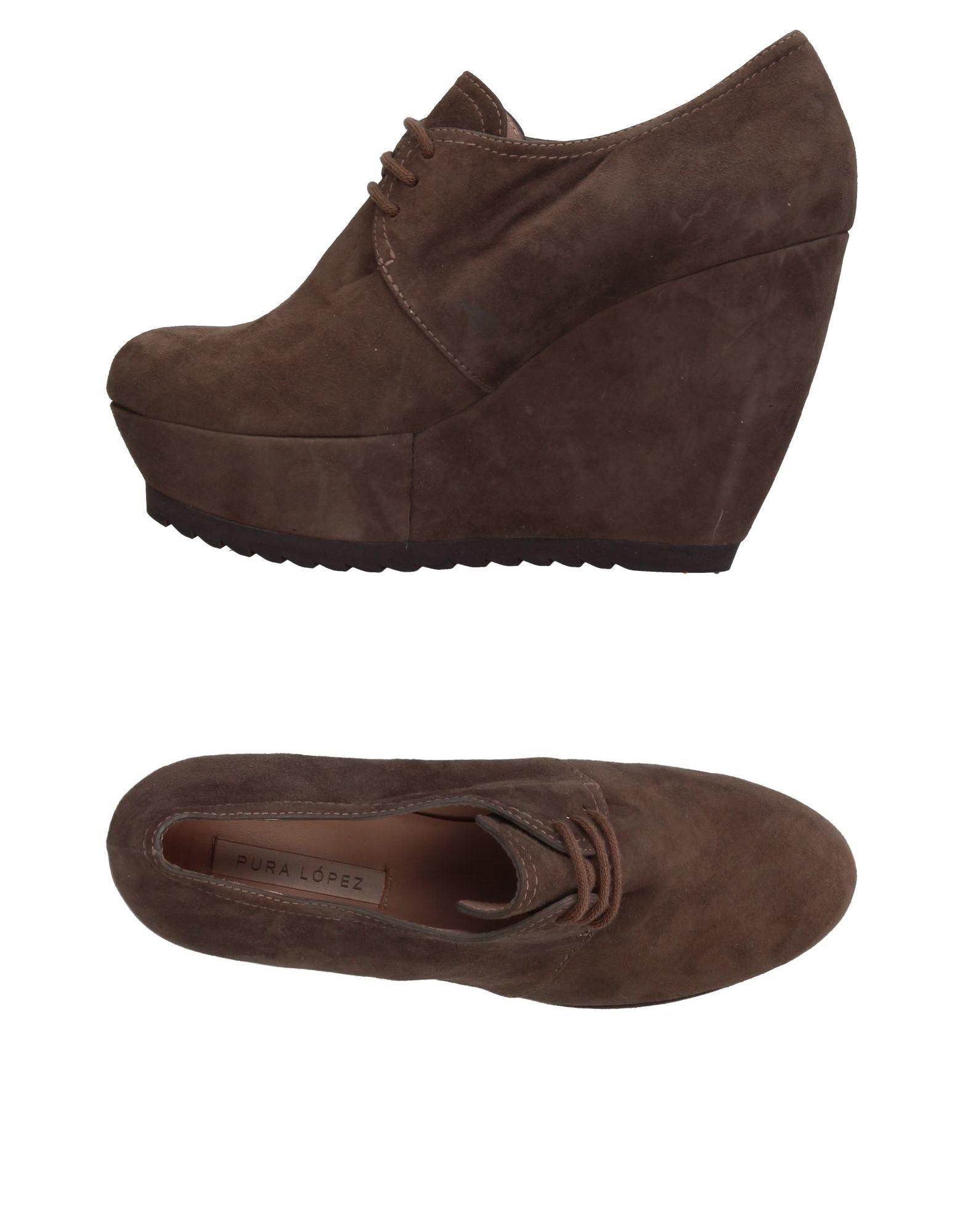 Pura López Schnürschuhe Damen  11053723VE Gute Qualität beliebte Schuhe