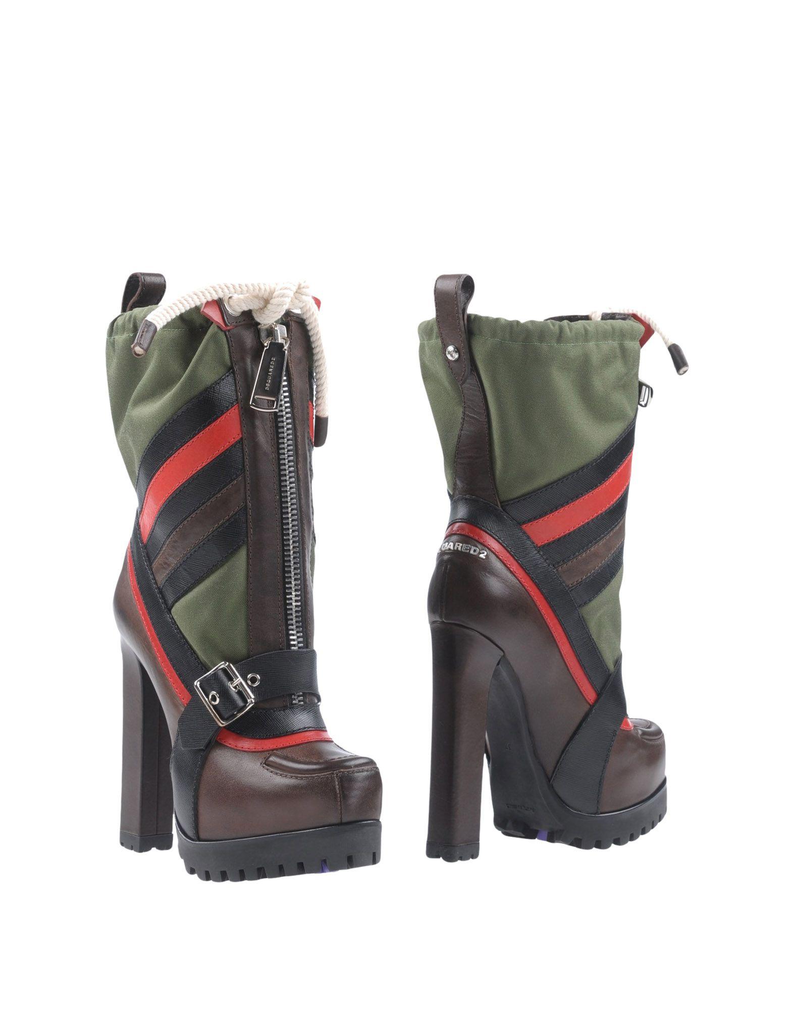 Haltbare Mode billige Schuhe Dsquared2 Stiefelette Damen  11055471AT Heiße Schuhe