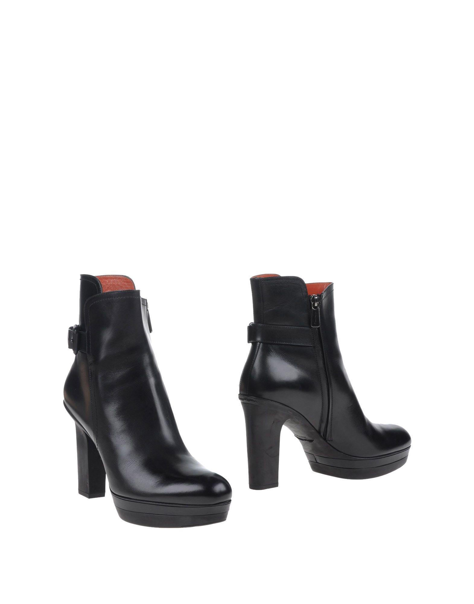 Bottine Santoni Femme - Bottines Santoni Noir Nouvelles chaussures remise pour hommes et femmes, remise chaussures limitée dans le temps f879ee