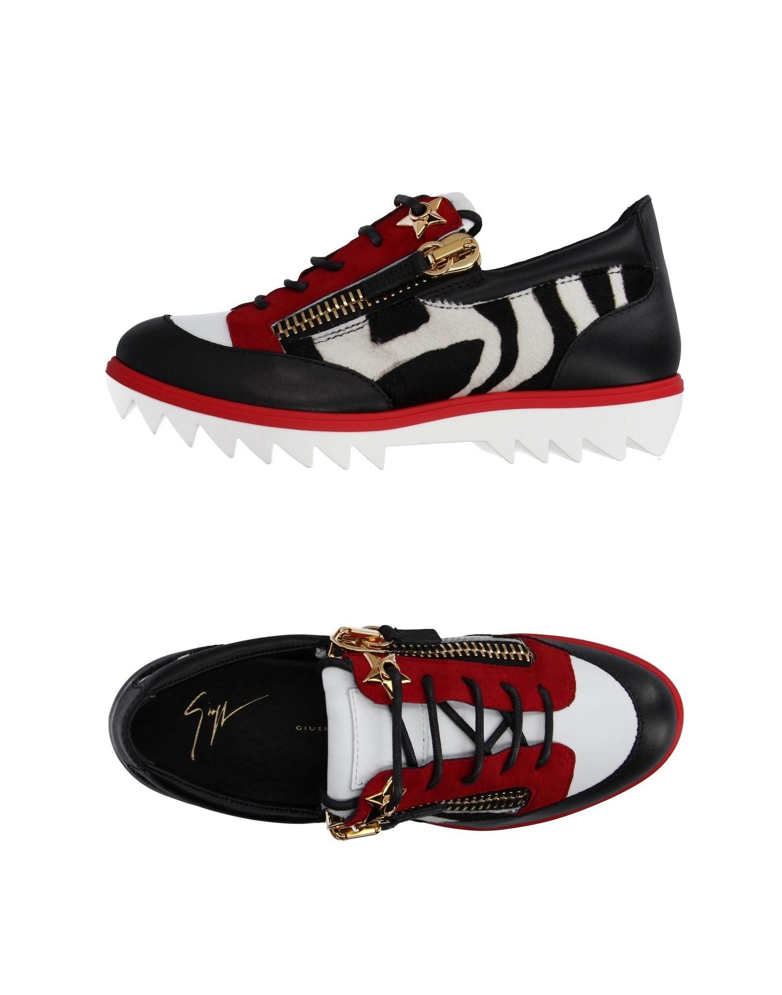 Giuseppe Zanotti aussehende Turnschuhes Damen 11057167QAGünstige gut aussehende Zanotti Schuhe c92b87