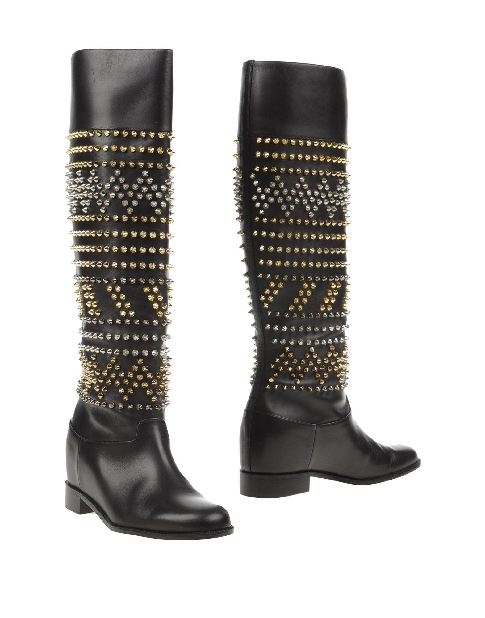 Christian Louboutin Stiefel aussehende Damen  11058565UEGünstige gut aussehende Stiefel Schuhe 02da64