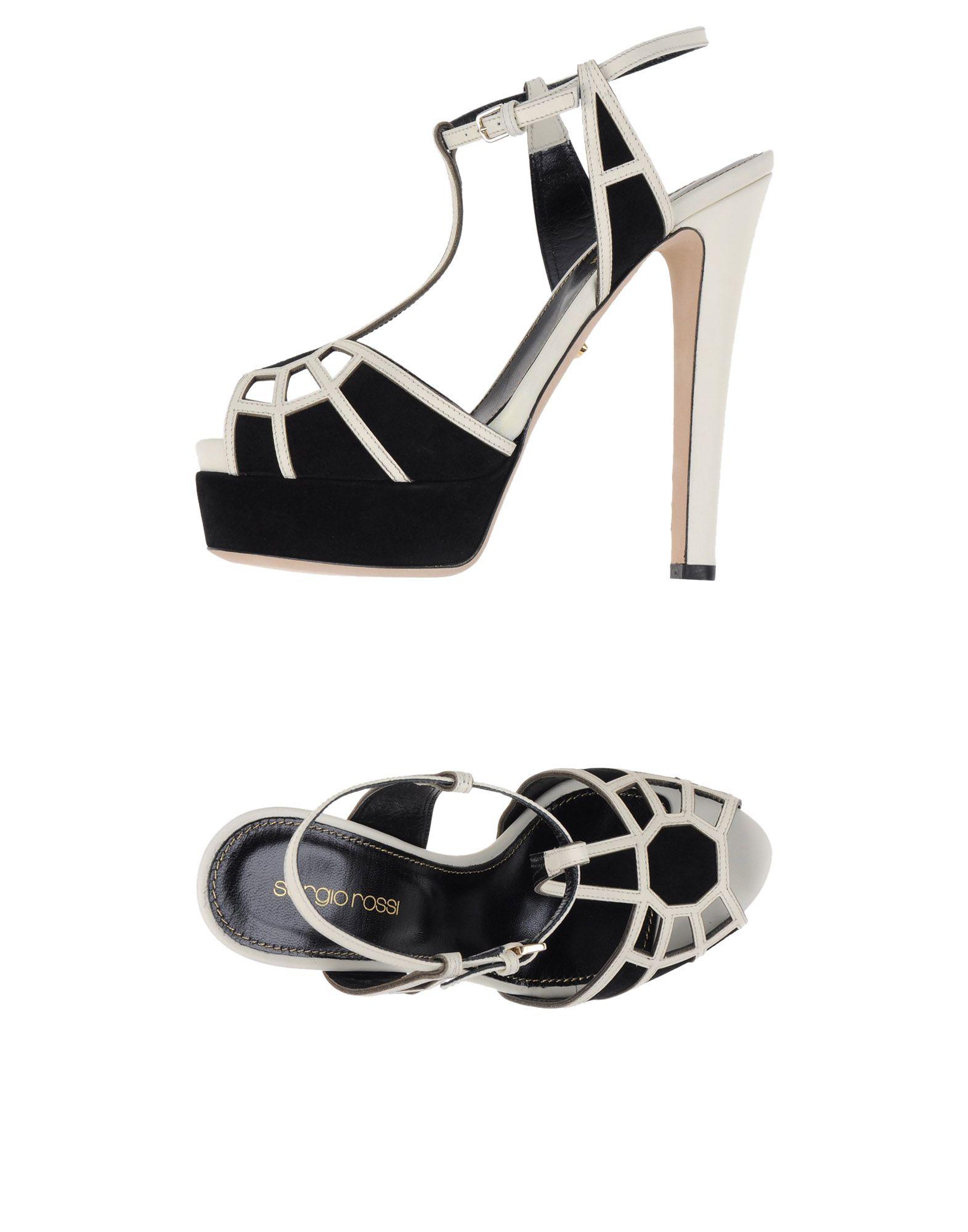 Stilvolle billige Schuhe Sergio Rossi Sandalen Damen  11059253JC