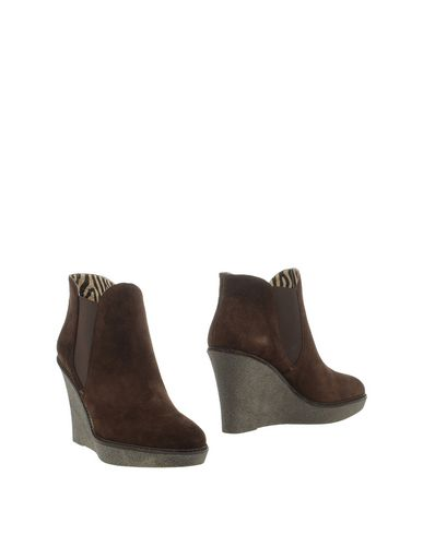 GIANNA MELIANI Ankle Boot in Dark Brown