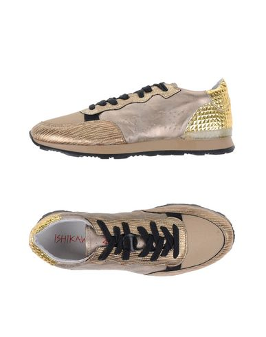 ISHIKAWA Sneakers in Gold