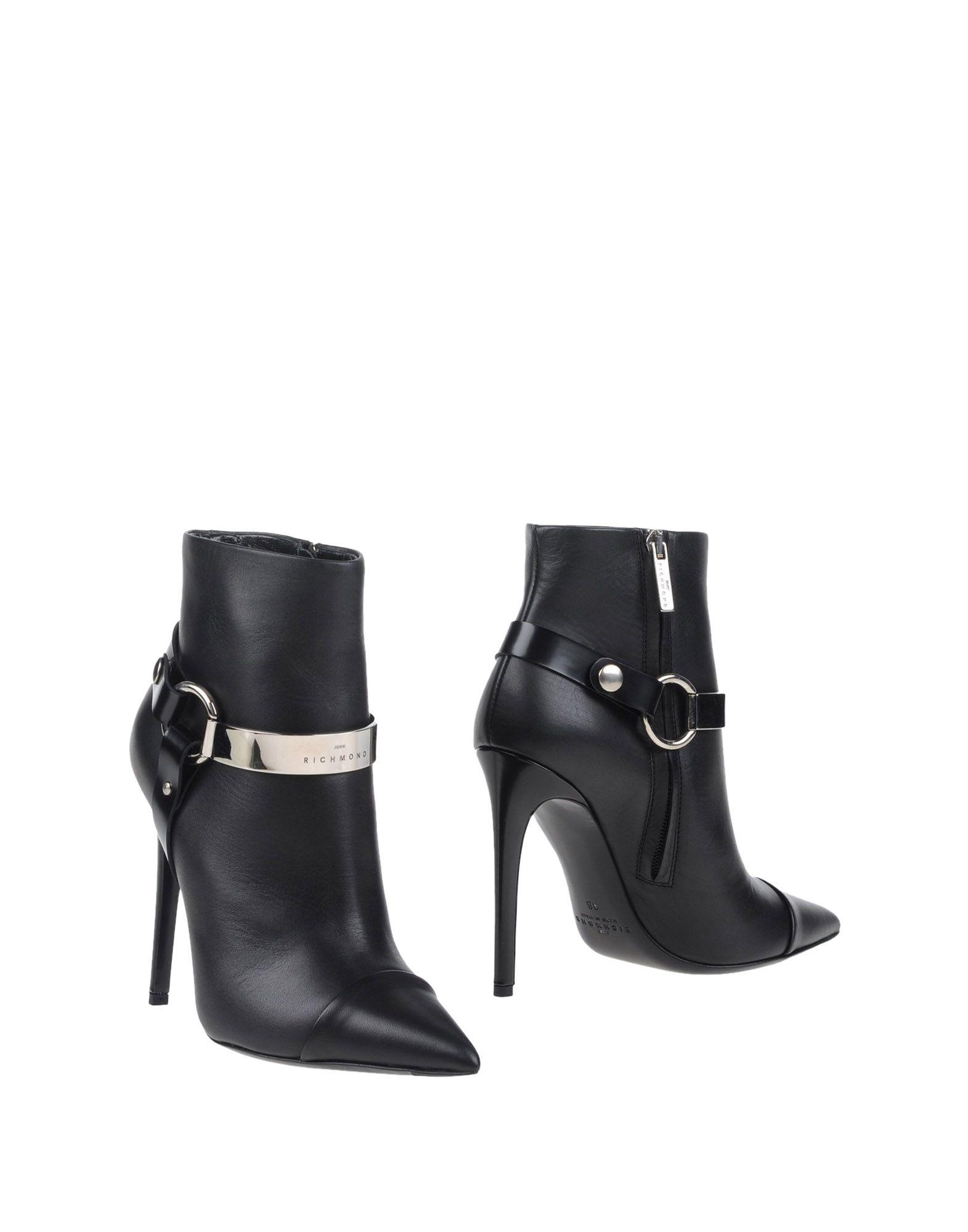 Rabatt Schuhe John Richmond Stiefelette Damen  11060820JO