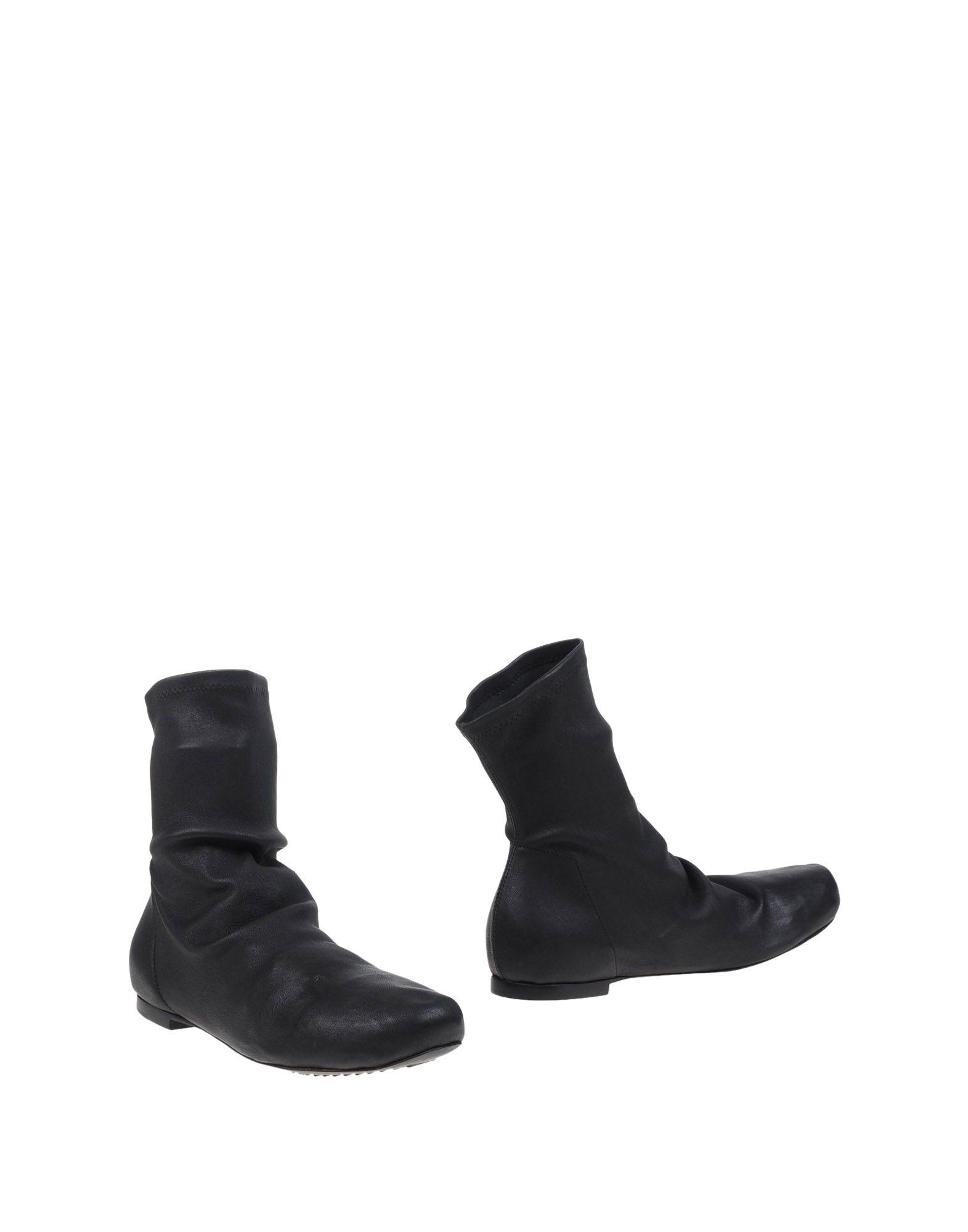 Rick Owens Stiefelette aussehende Damen  11062369EOGünstige gut aussehende Stiefelette Schuhe 328989