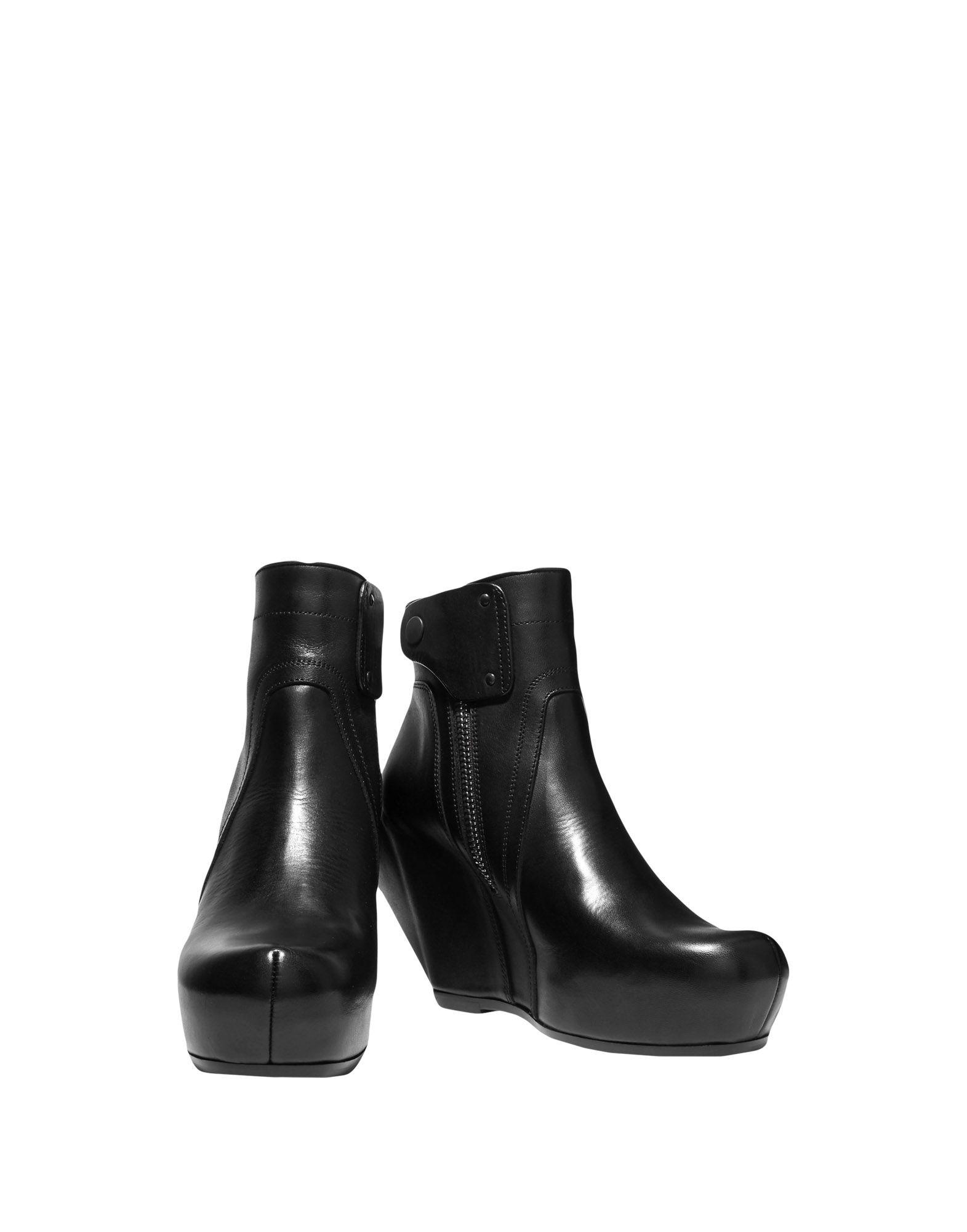Rick Owens Stiefelette gut Damen  11062479VCGünstige gut Stiefelette aussehende Schuhe 658686