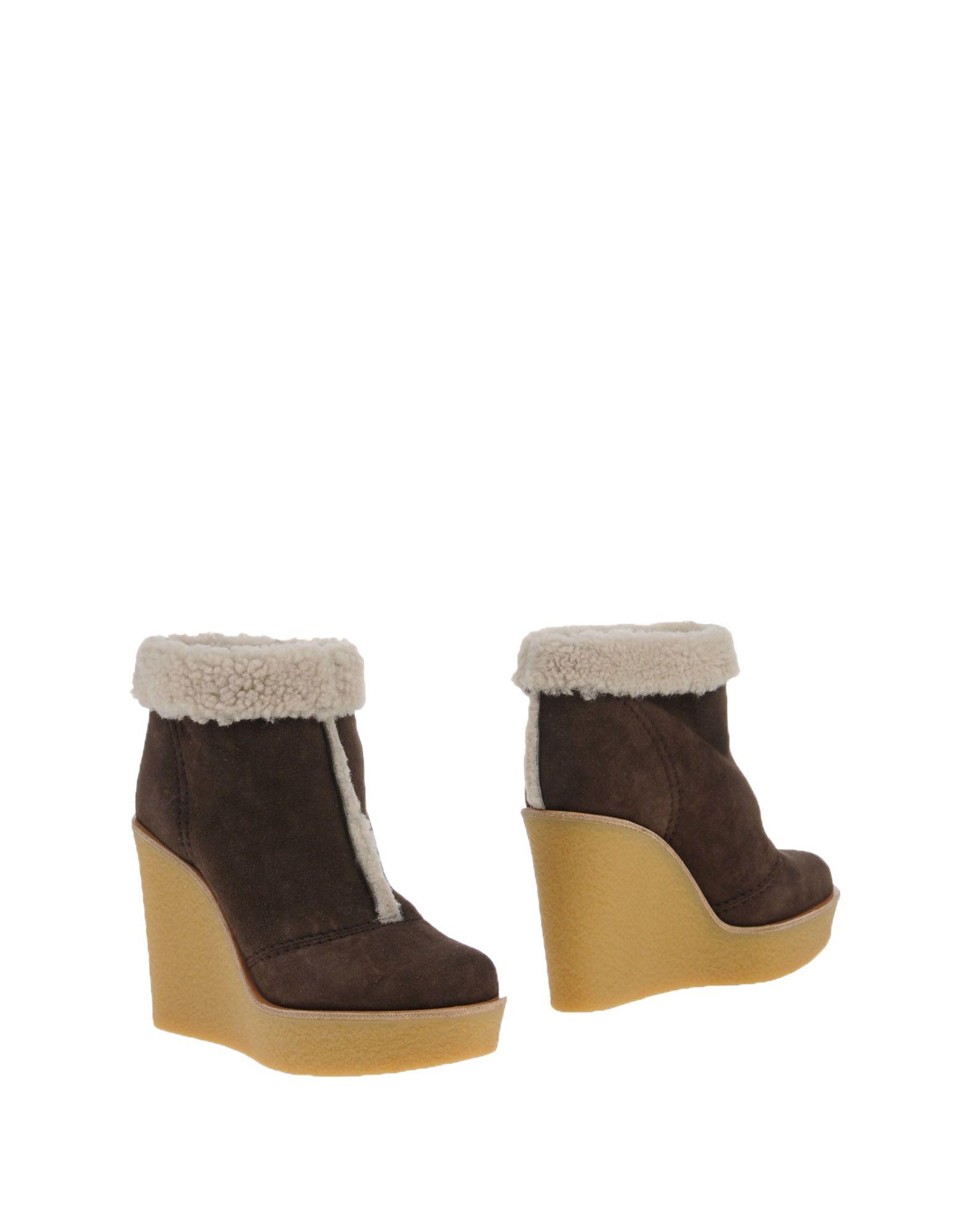 Stilvolle billige Schuhe Chloé Stiefelette Damen  11063288XJ