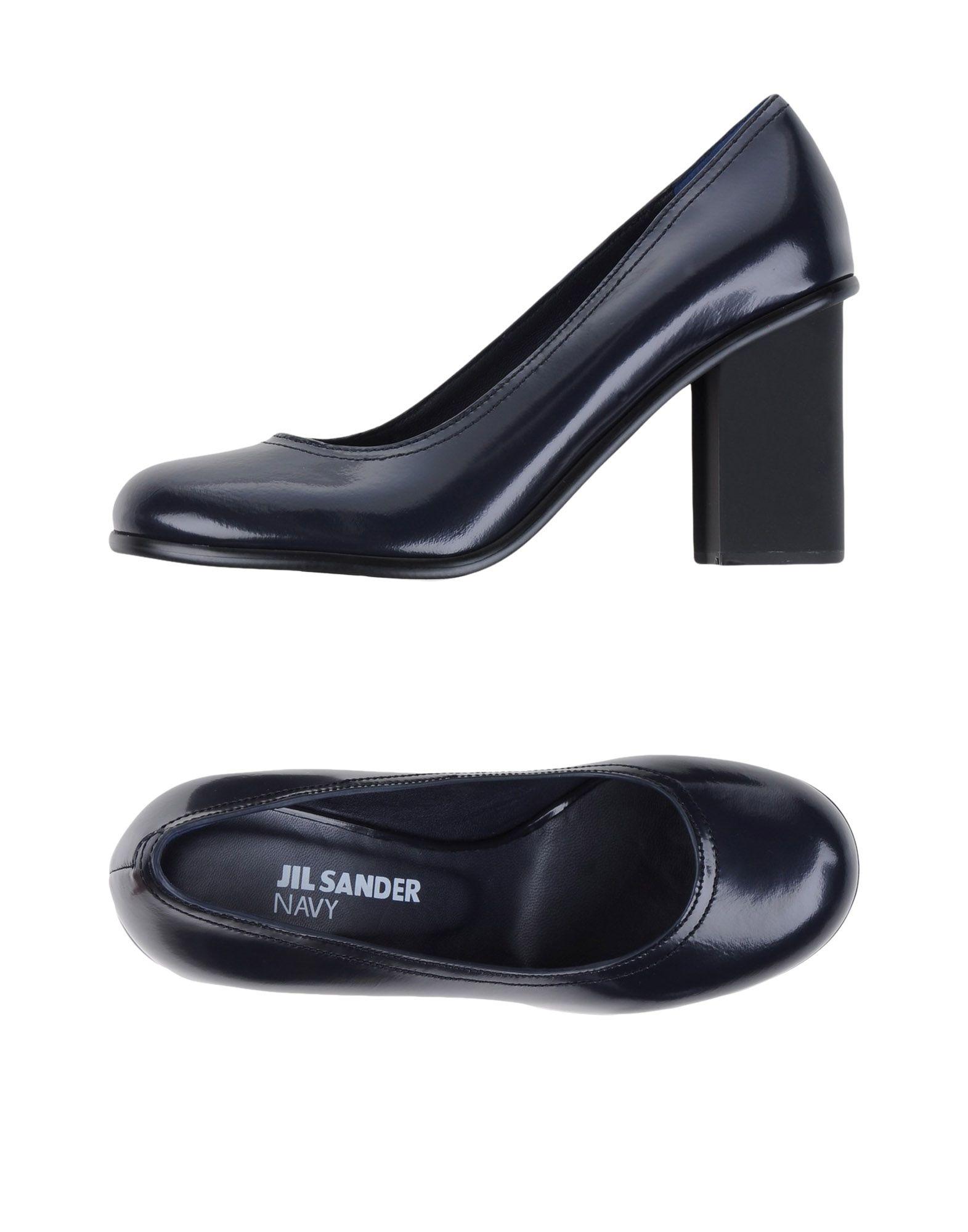 Stilvolle billige Schuhe Jil Sander Navy Pumps Damen  11064594MS