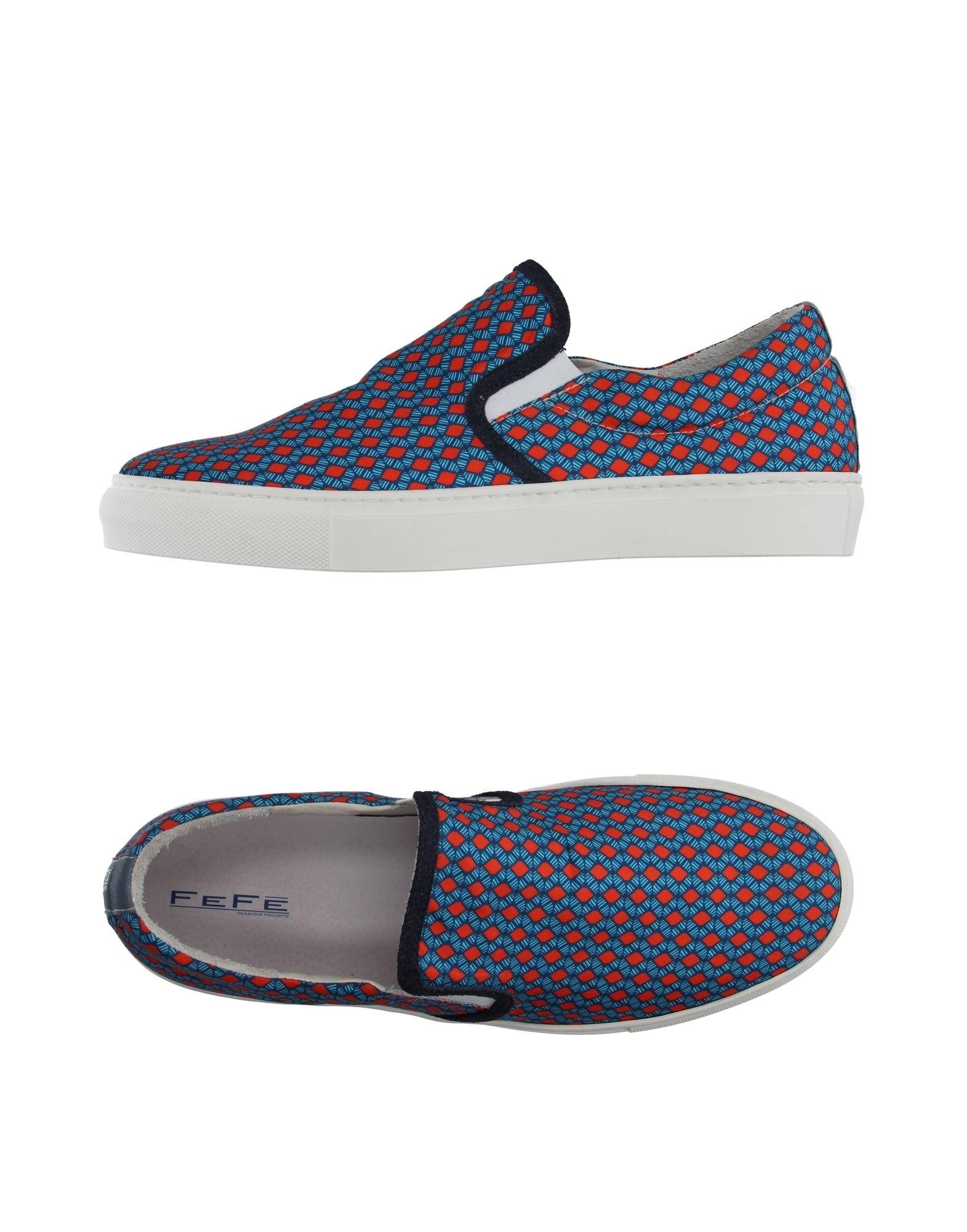 Sneakers Fefē Glamour Pochette Homme - Sneakers Fefē Glamour Pochette  Bleu d'azur Spécial temps limité