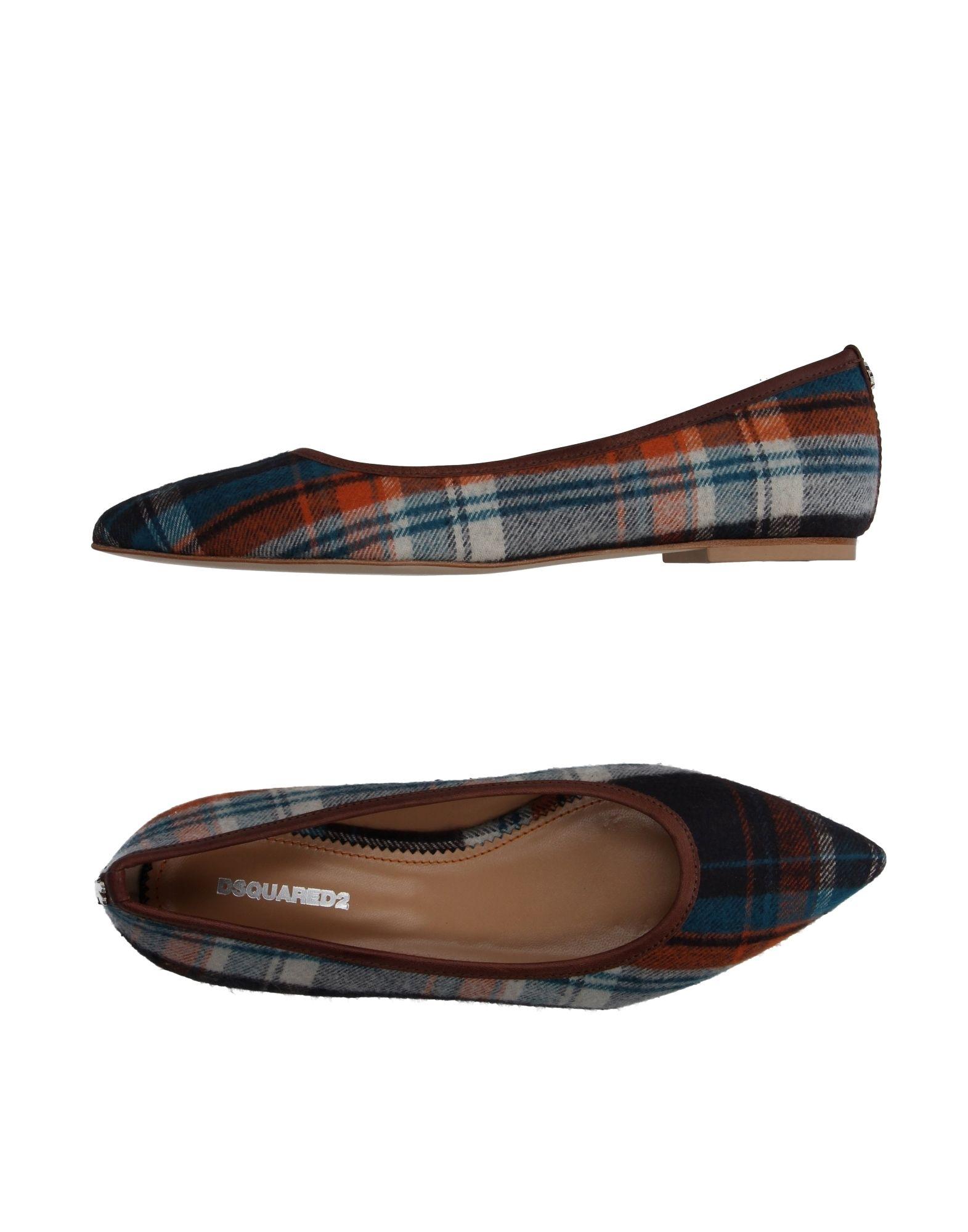 Stilvolle billige Schuhe Dsquared2 Ballerinas Damen  11066361DM