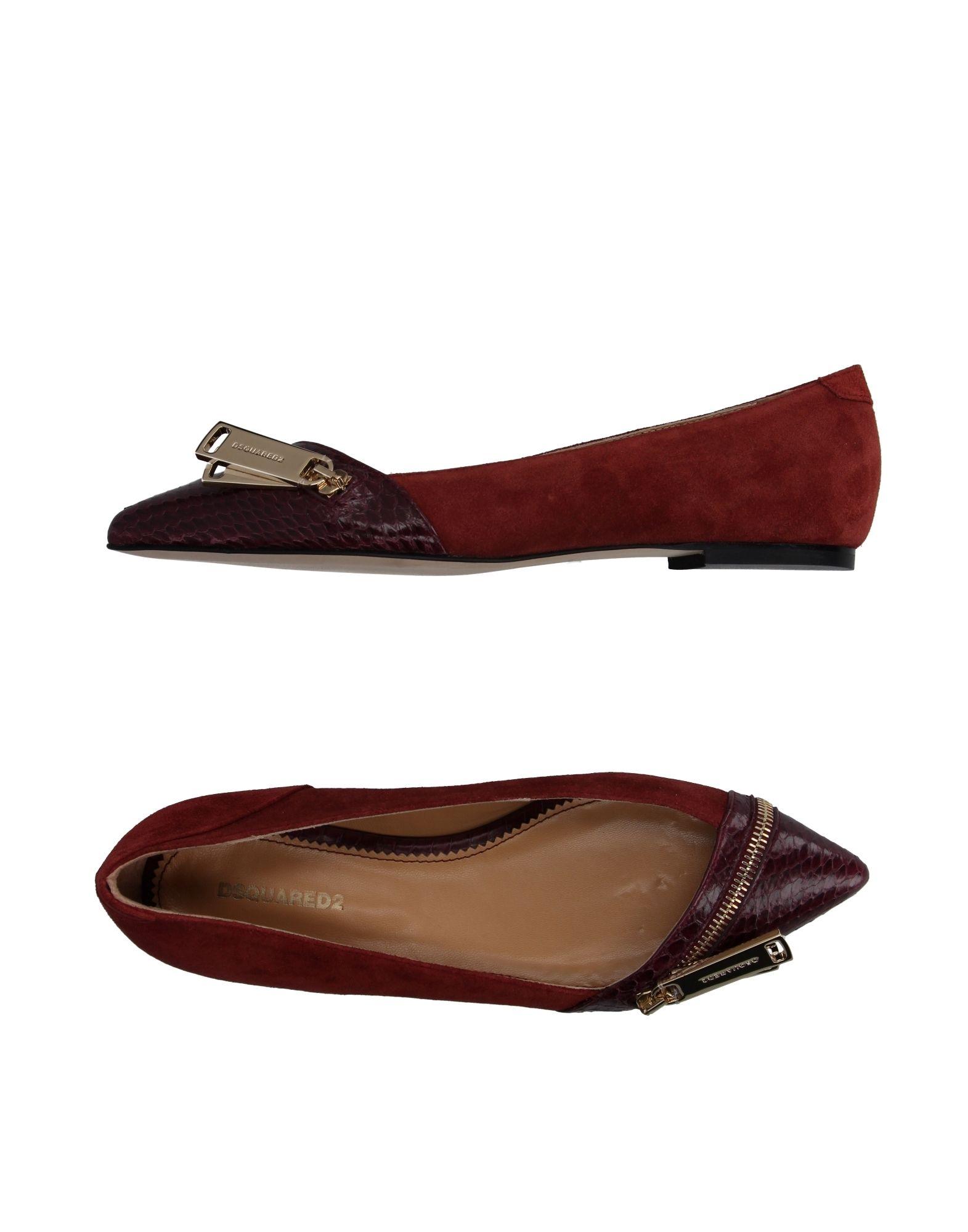 Stilvolle billige Schuhe DsquaROT2 Ballerinas Damen  11067333OW 11067333OW 11067333OW 97fe41