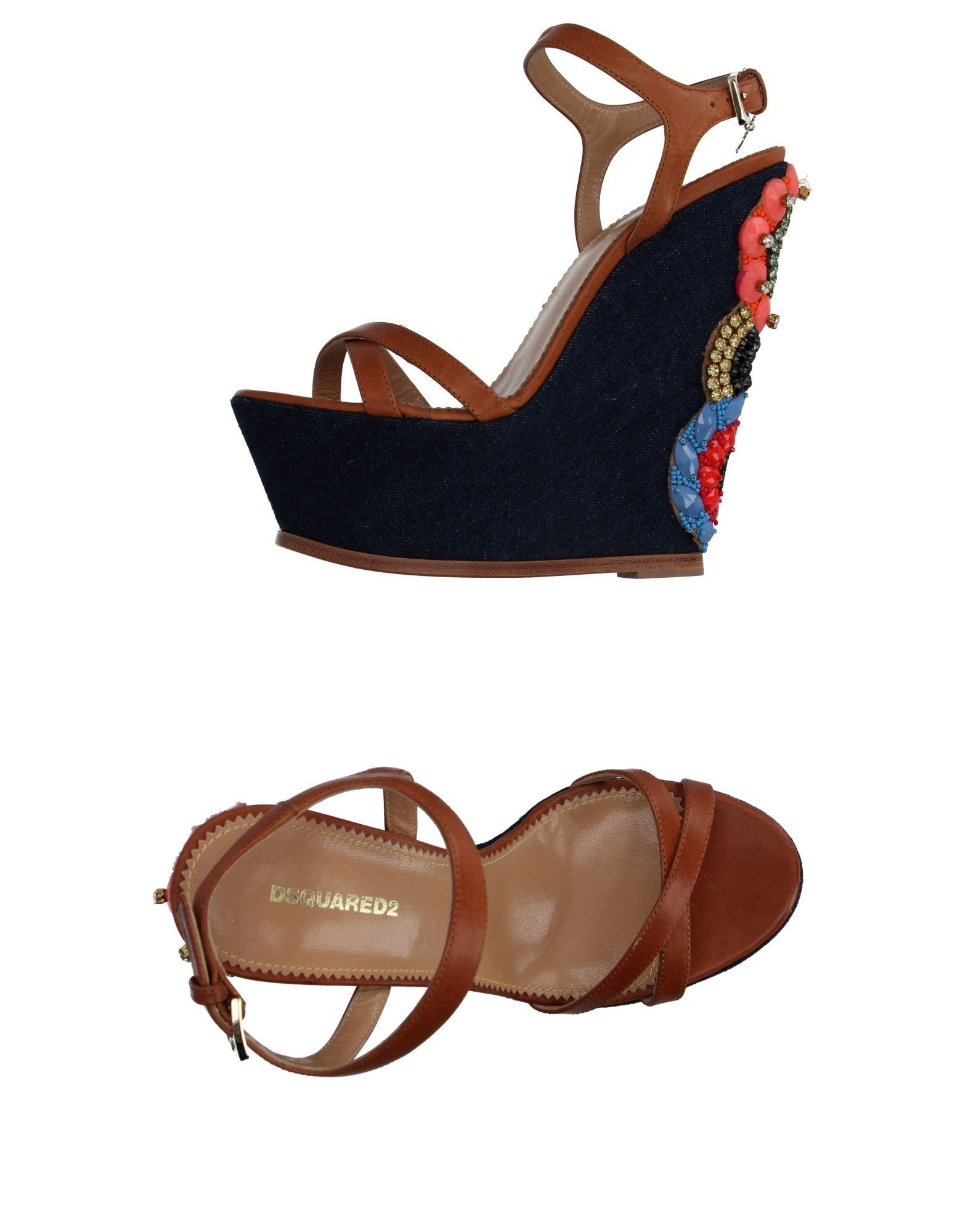 Haltbare Mode billige Schuhe Dsquared2 Sandalen Damen  11067607WF Heiße Schuhe