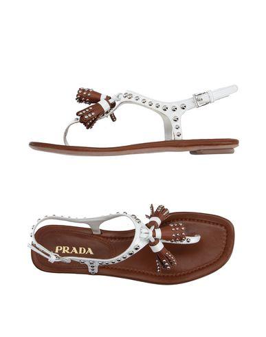 Prada Flip Flops - Women Prada Flip Flops online on YOOX United ... 70e1ff93e7