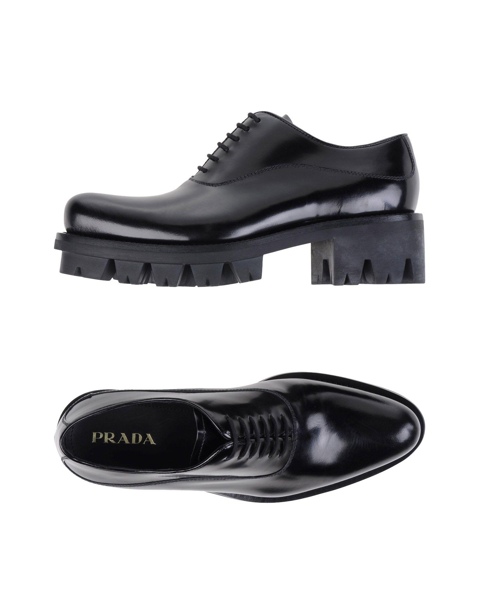 Prada Schnürschuhe Damen  11068917RWGünstige gut aussehende Schuhe