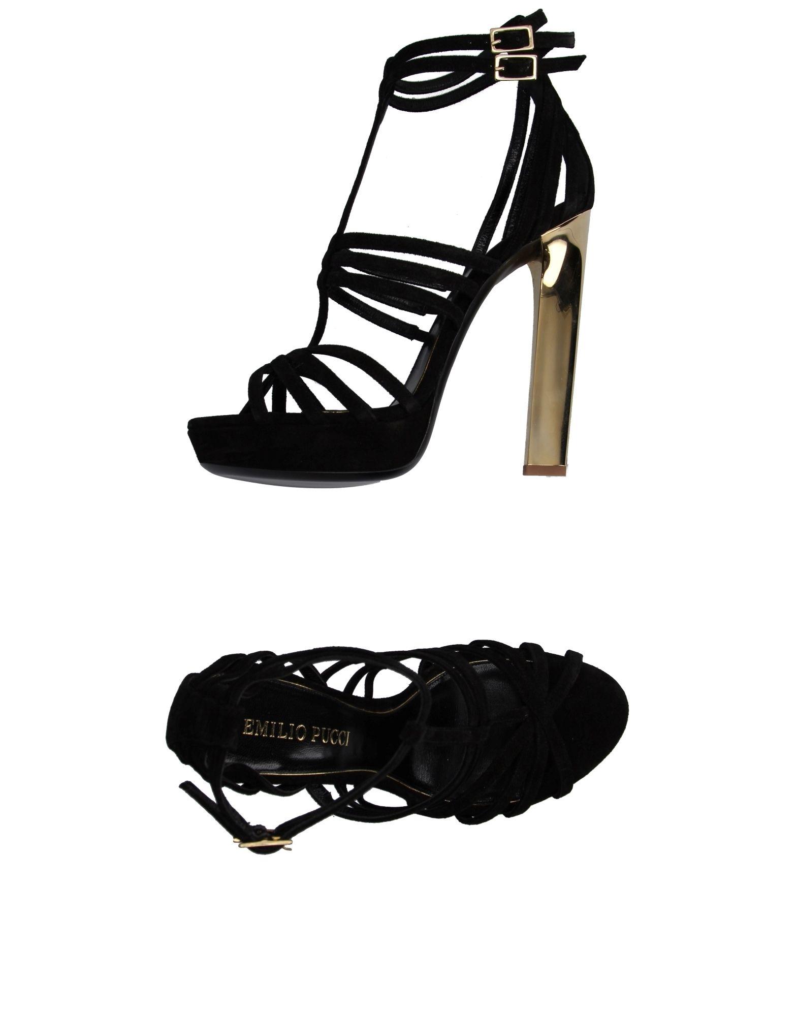 Emilio Pucci Sandalen gut Damen  11076378DRGünstige gut Sandalen aussehende Schuhe 841aa3