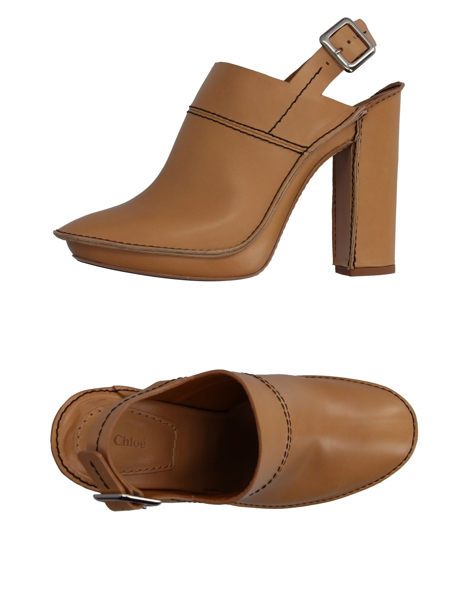 Chloé Open-Toe Mules - Women Chloé Open-Toe Mules Kingdom online on  United Kingdom Mules - 11078611PM 2617ab