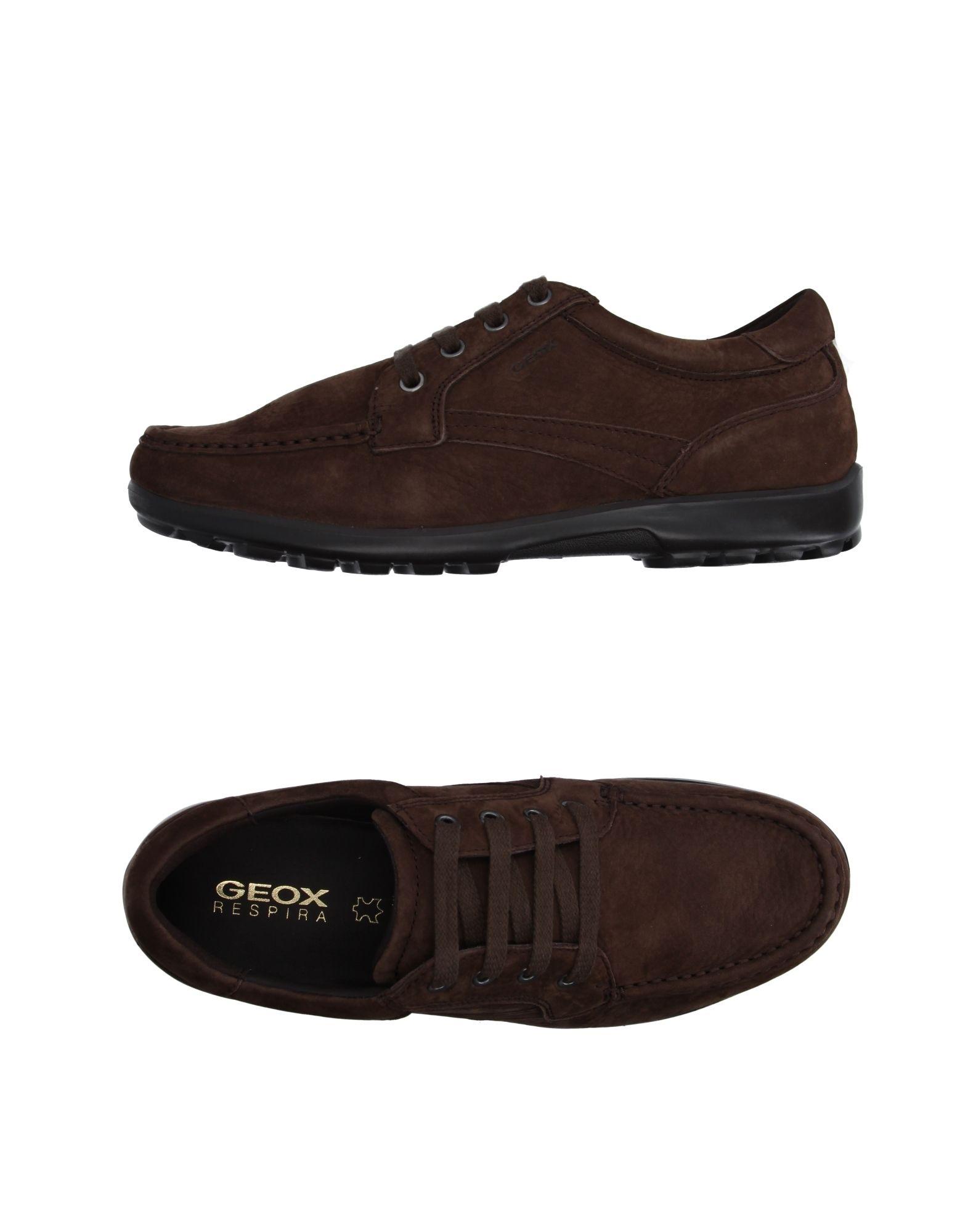 Rabatt echte Schuhe Geox Schnürschuhe Herren  11084459SB