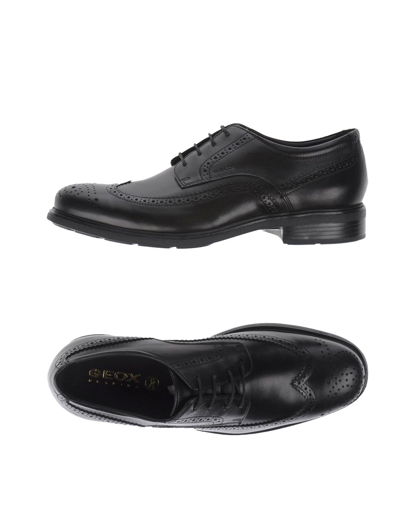 Rabatt echte Schuhe Geox Schnürschuhe Herren  11086053OH