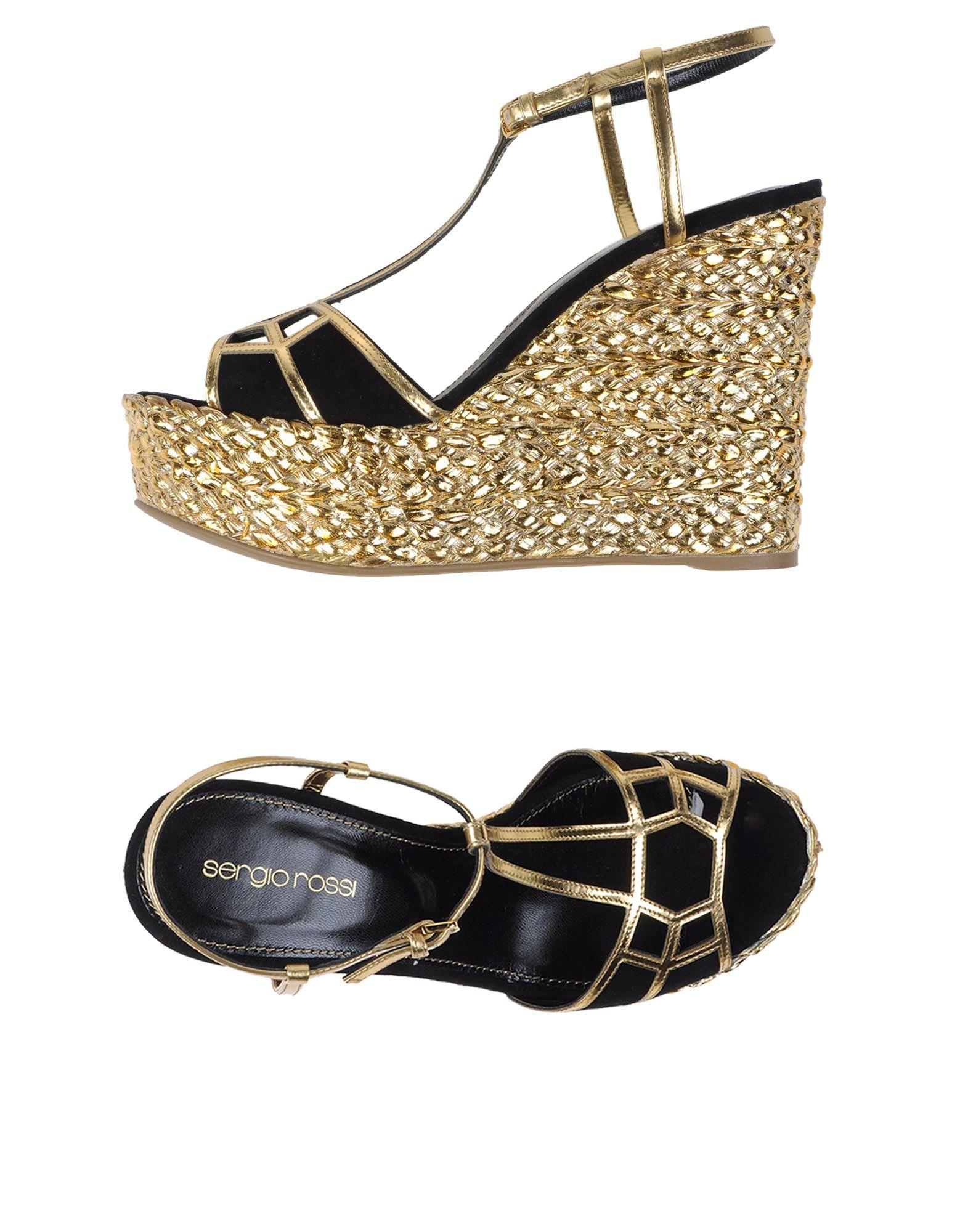 Sergio Rossi Sandalen Damen  11088275QJGünstige gut aussehende Schuhe