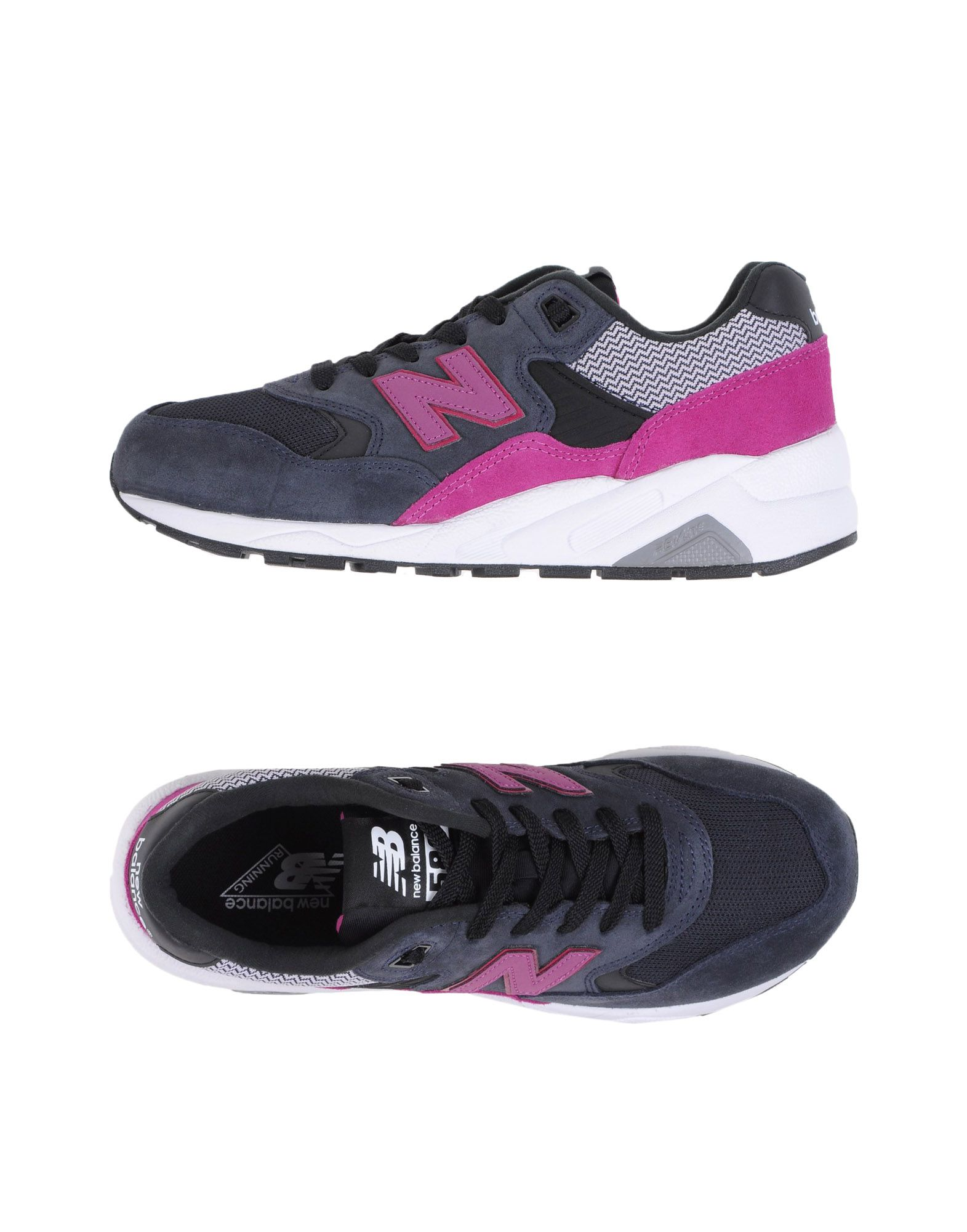 Baskets New Balance 580 Womens Wanderlust - Femme - Baskets New Balance Anthracite Chaussures casual sauvages