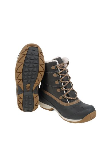 Stivaletti Scarpe Insulated Antracite Waterproof W The Donna Snowshoes Face Chilkat Ii North
