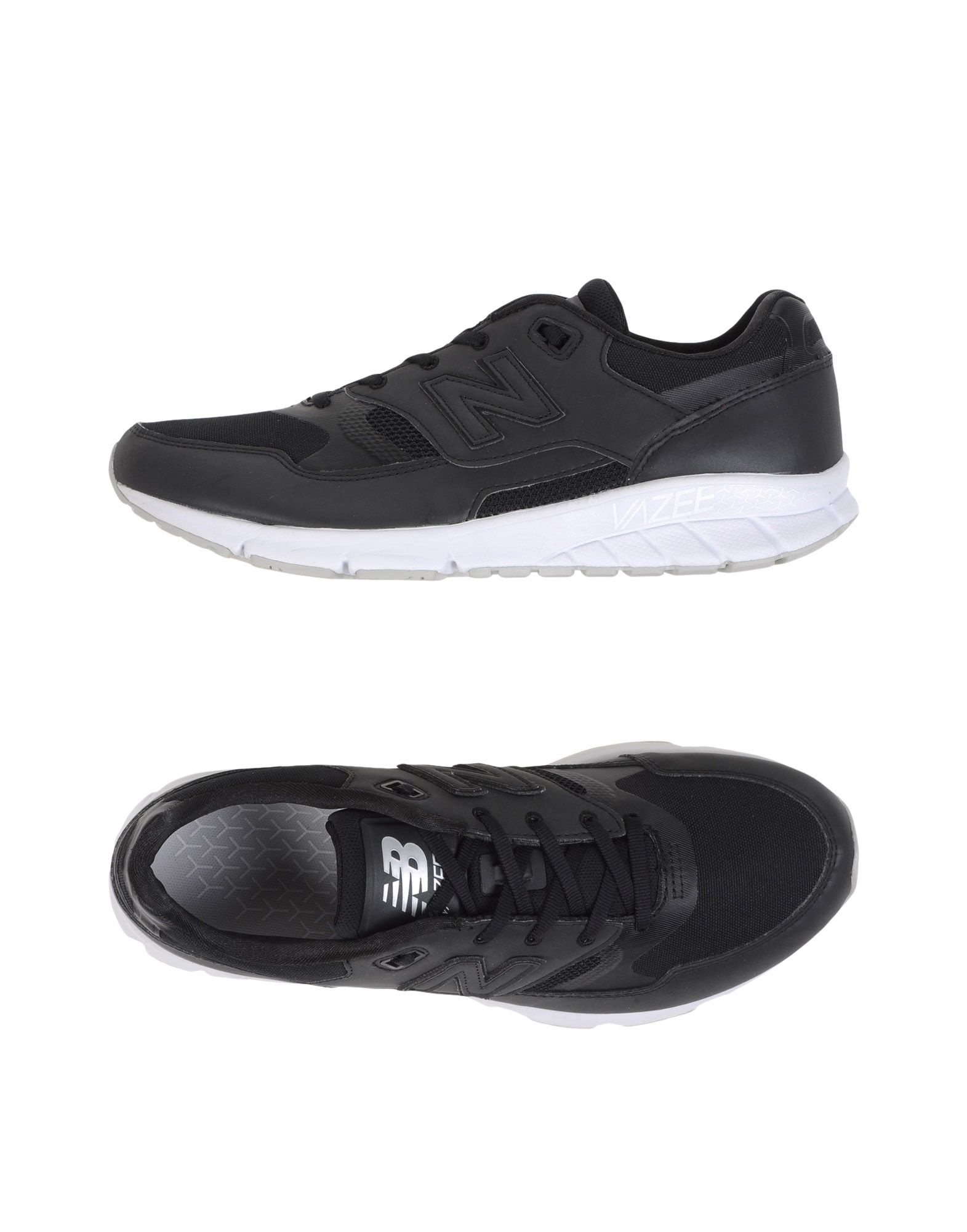 Rabatt echte Schuhe New Balance 530 Vazee Black And White  11090902RU