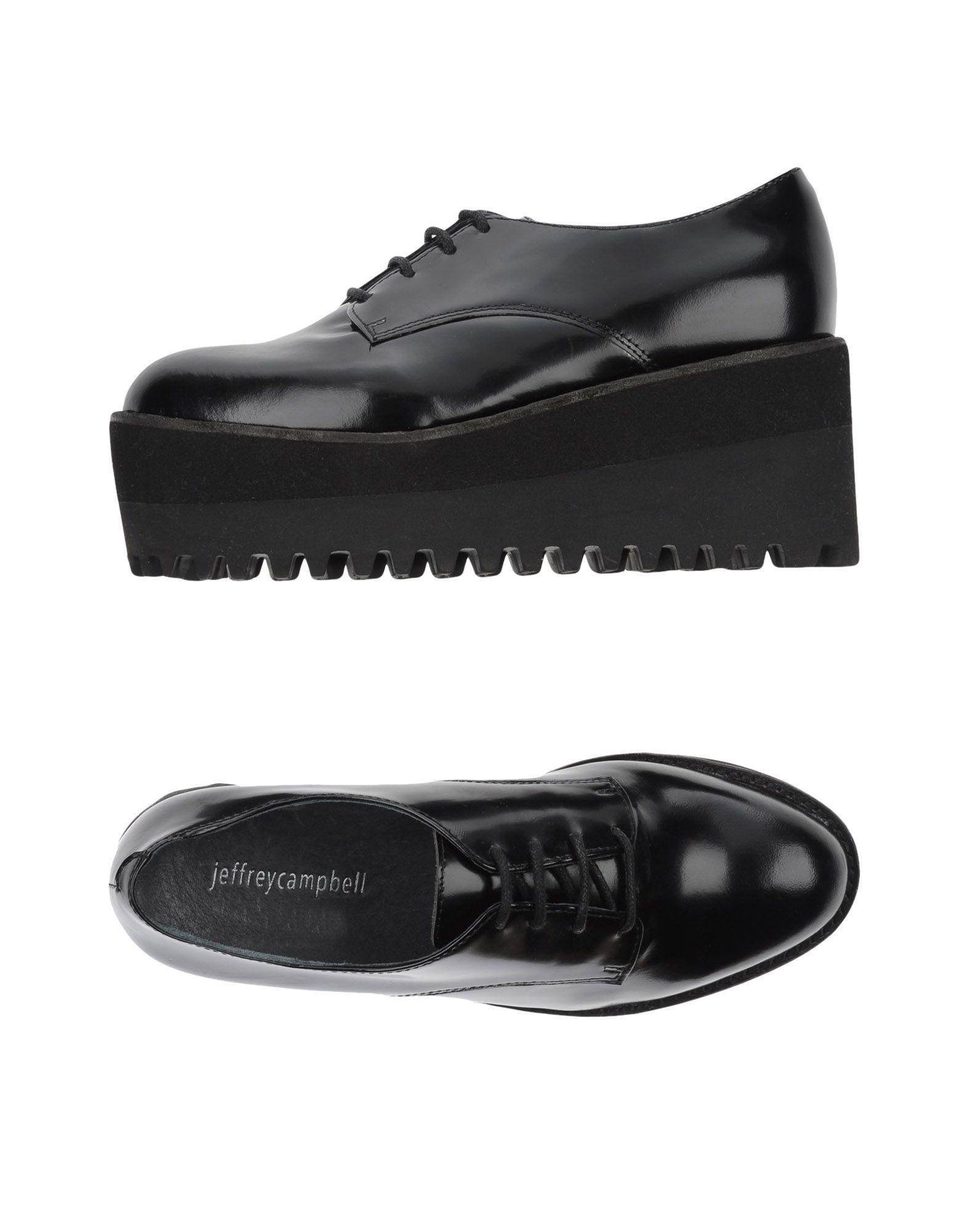 Gut um billige Schuhe zu tragenJeffrey Campbell Schnürschuhe Damen  11091364UA