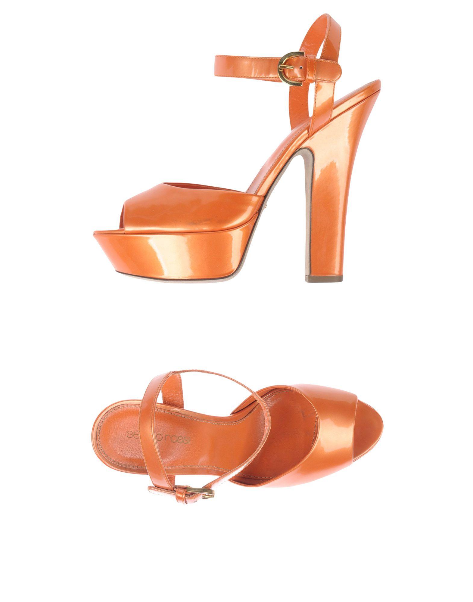 Sergio Rossi Sandalen Damen  11092150BJGünstige gut aussehende Schuhe