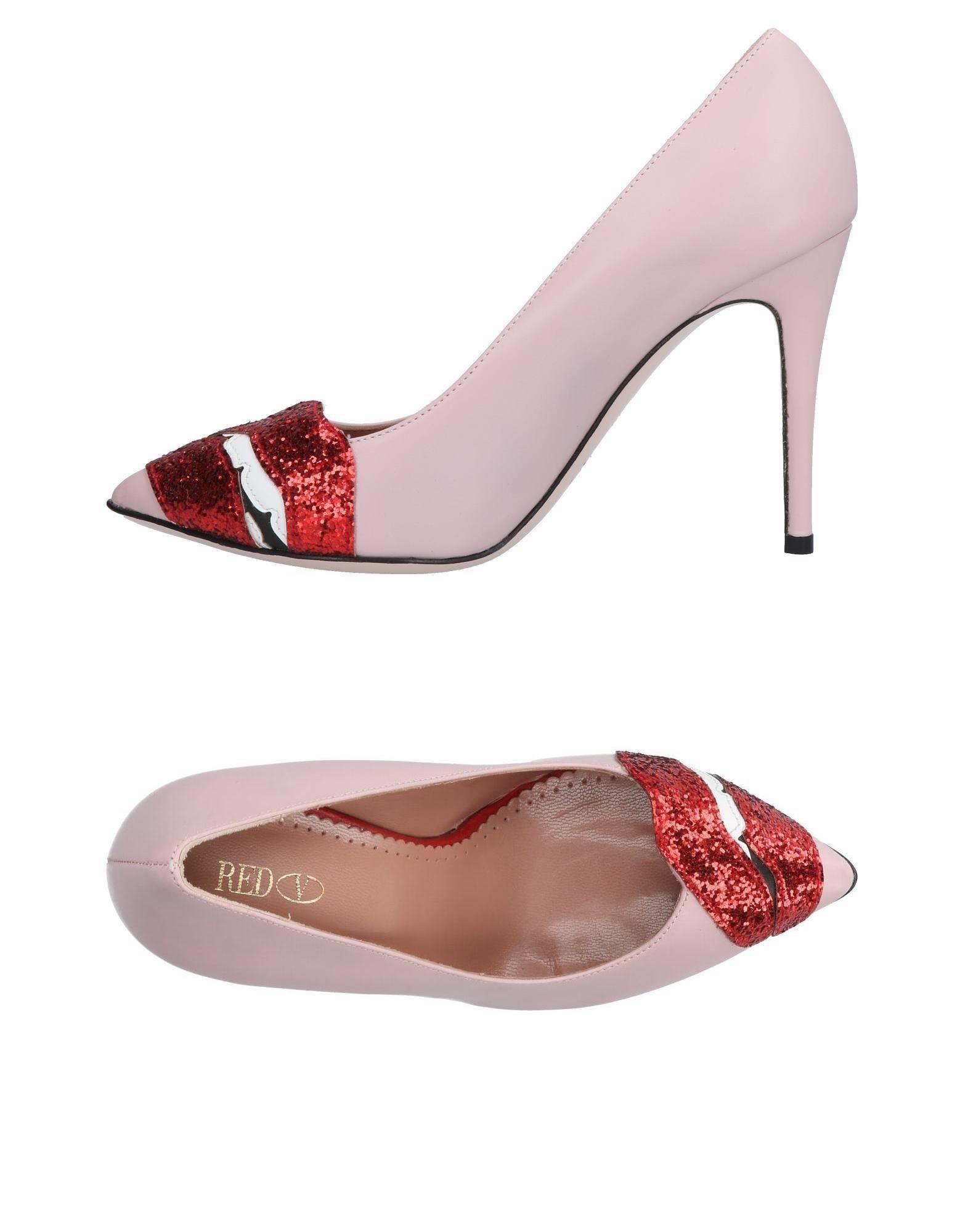 Red(V) Pumps Damen  11094290GSGut aussehende strapazierfähige Schuhe