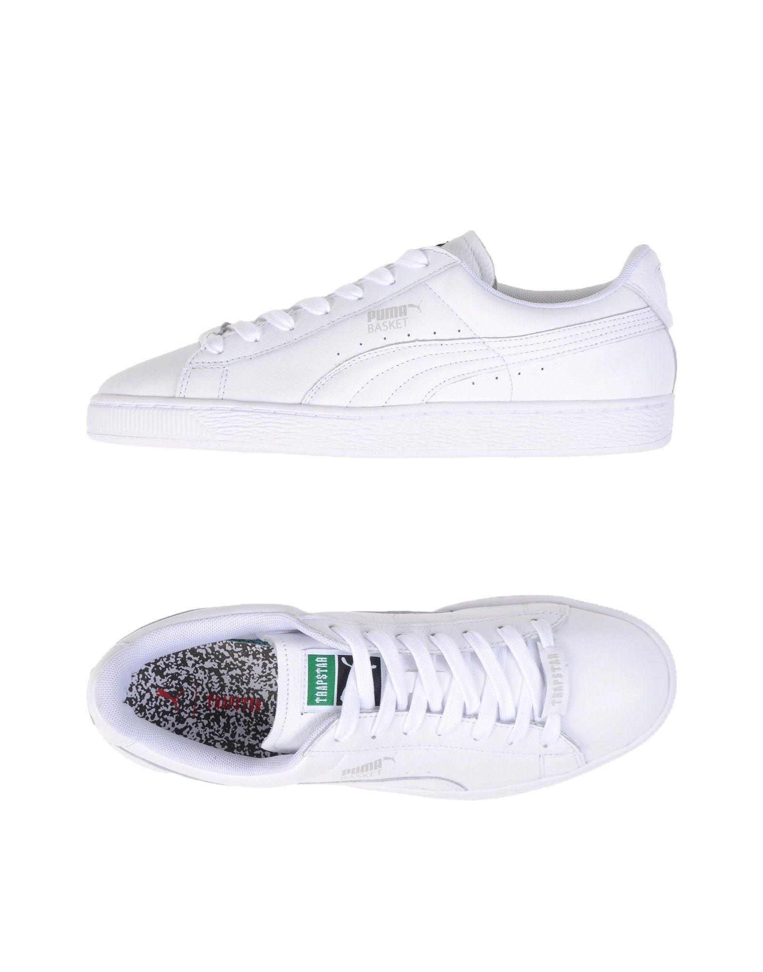 Sneakers Puma X Trapstar Basket White X Trapstar - Uomo - 11094915GI