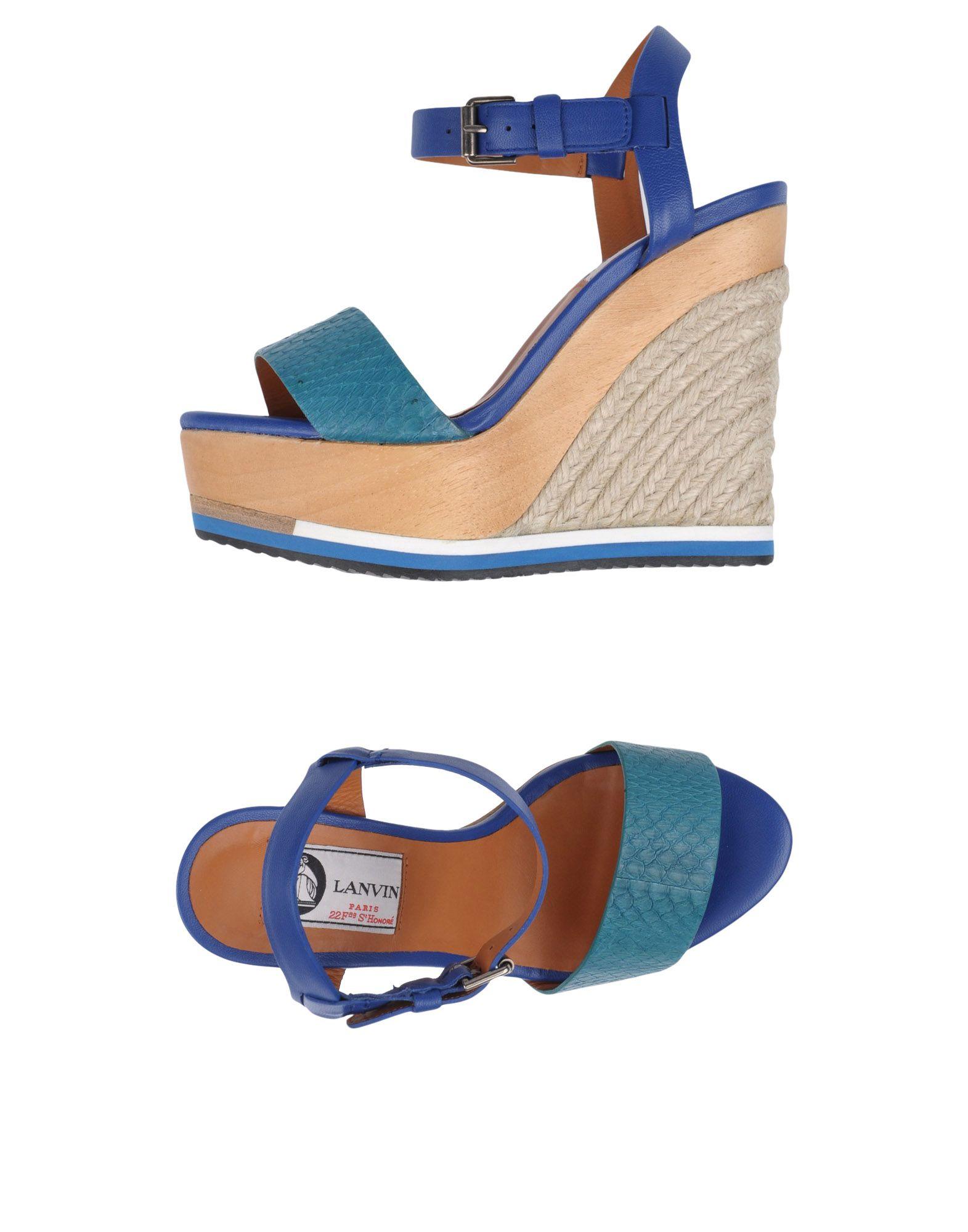 Moda Espadrillas Lanvin Donna - 11099142ST 11099142ST - 717366