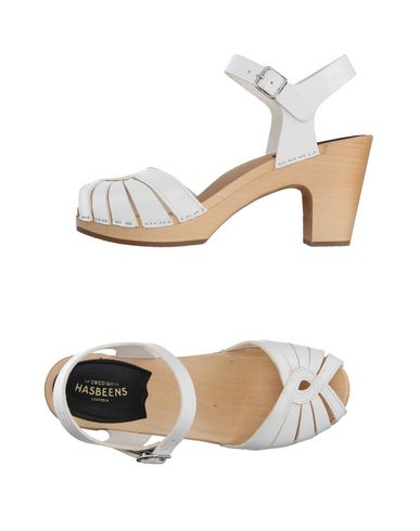 SWEDISH HASBEENS Sandals in White